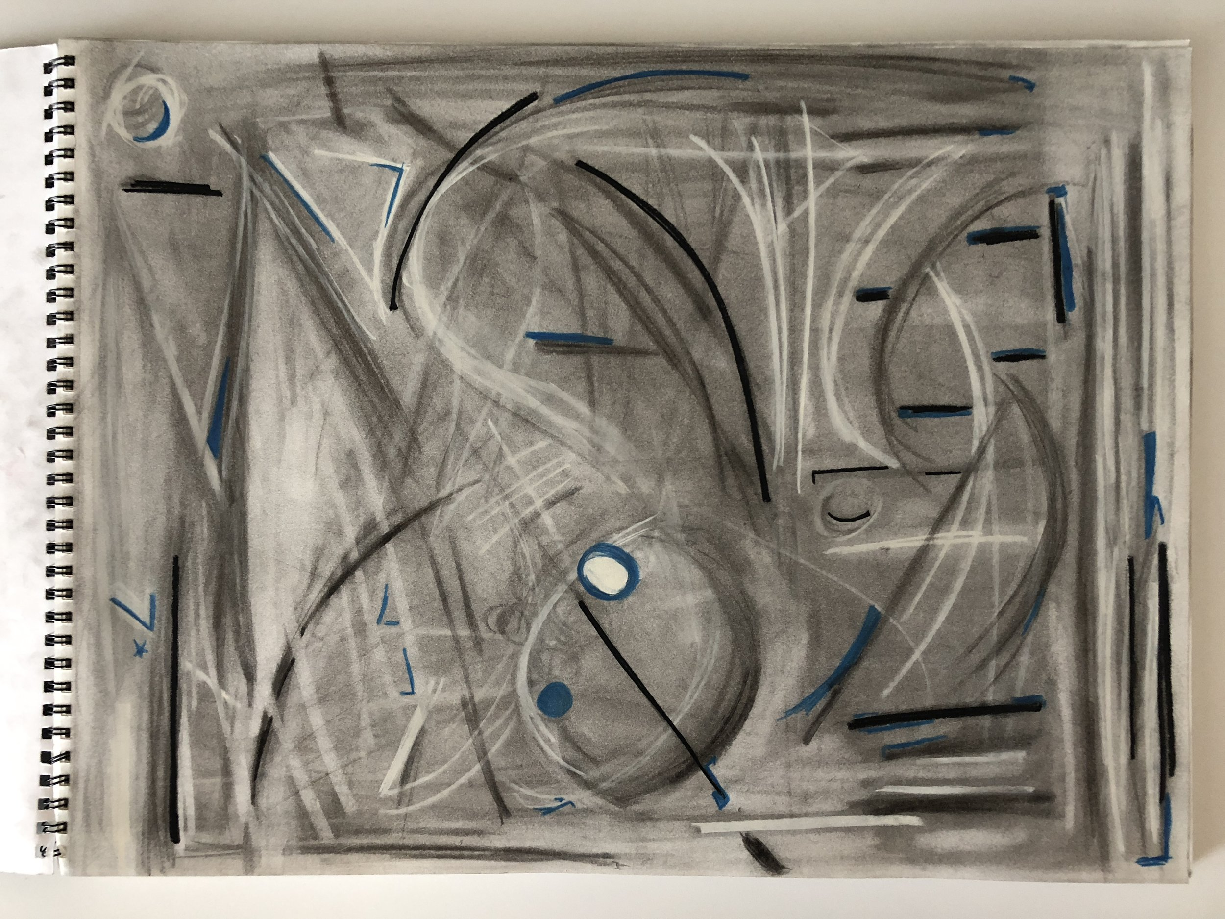 Mark's abstract art, week 1