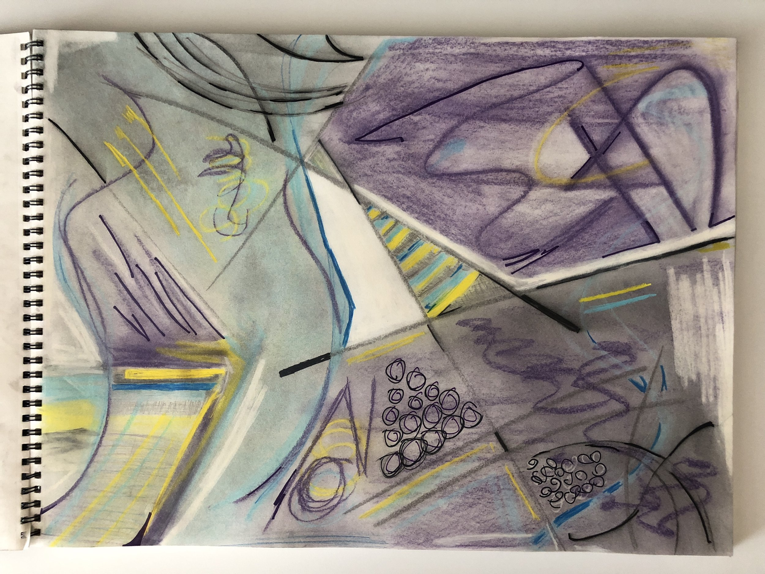 Mark's abstract art, week 2