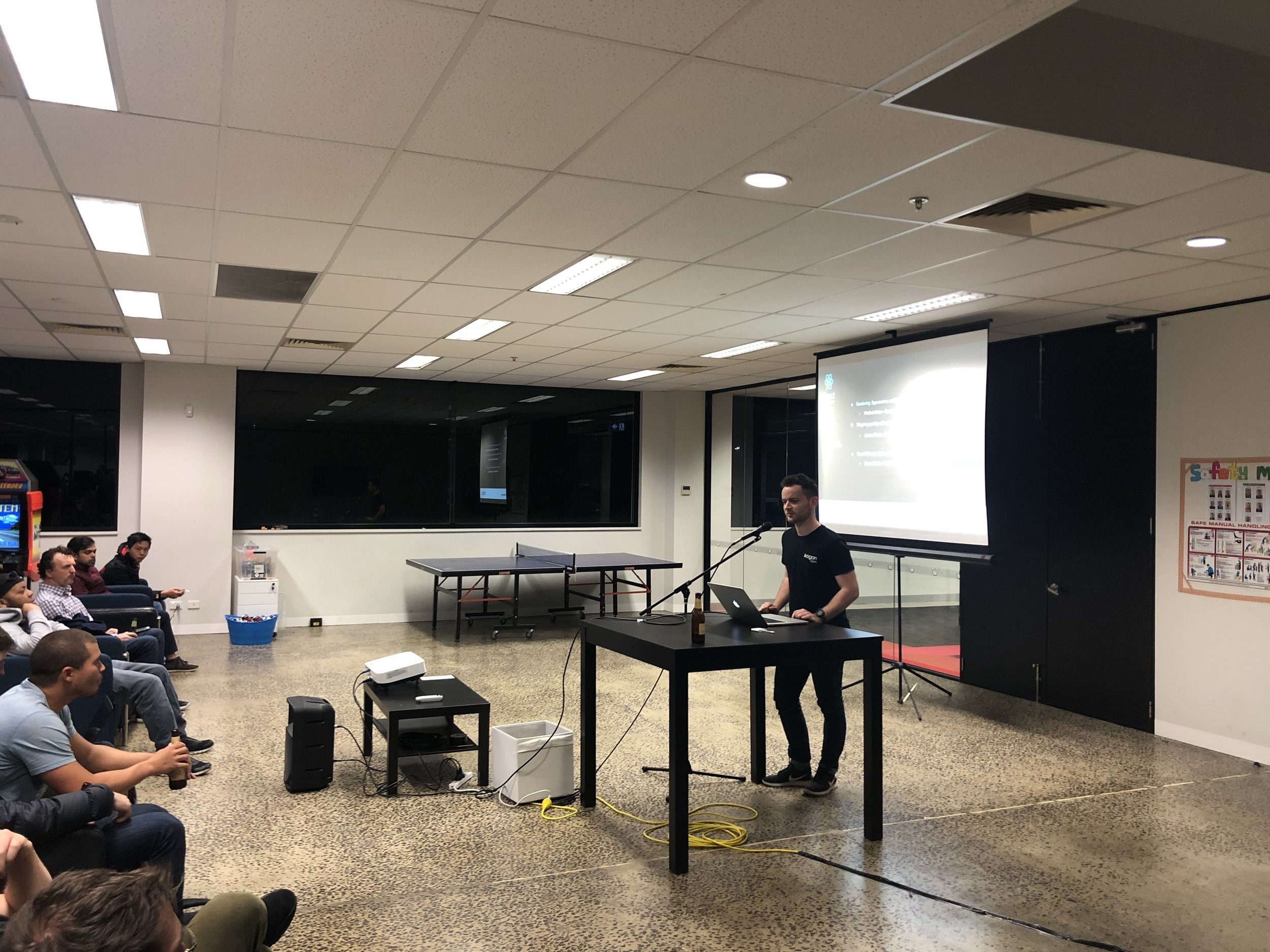 Think React might interest you? Come along to the  meetup  next quarter