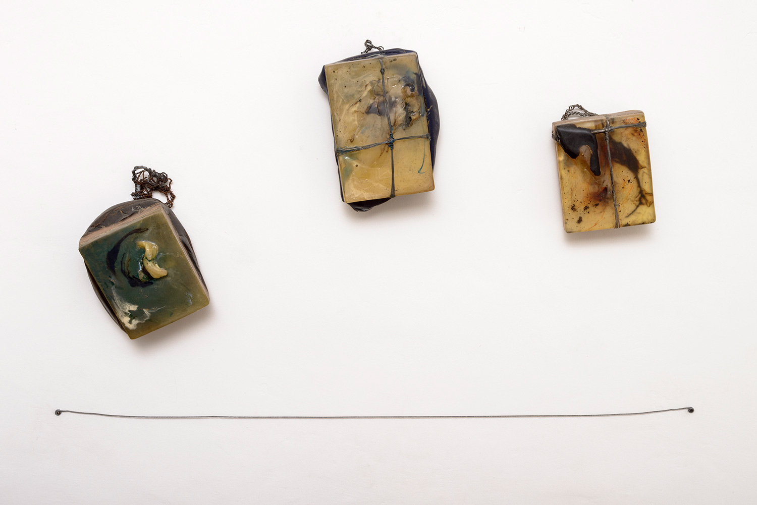 Rigor, Prey Tell, Pipe Dreams, Resin, oil and wire on Panel, 2014