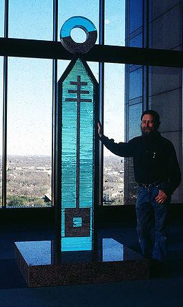 Awards designed by Jim Bowman Master Glass Artist