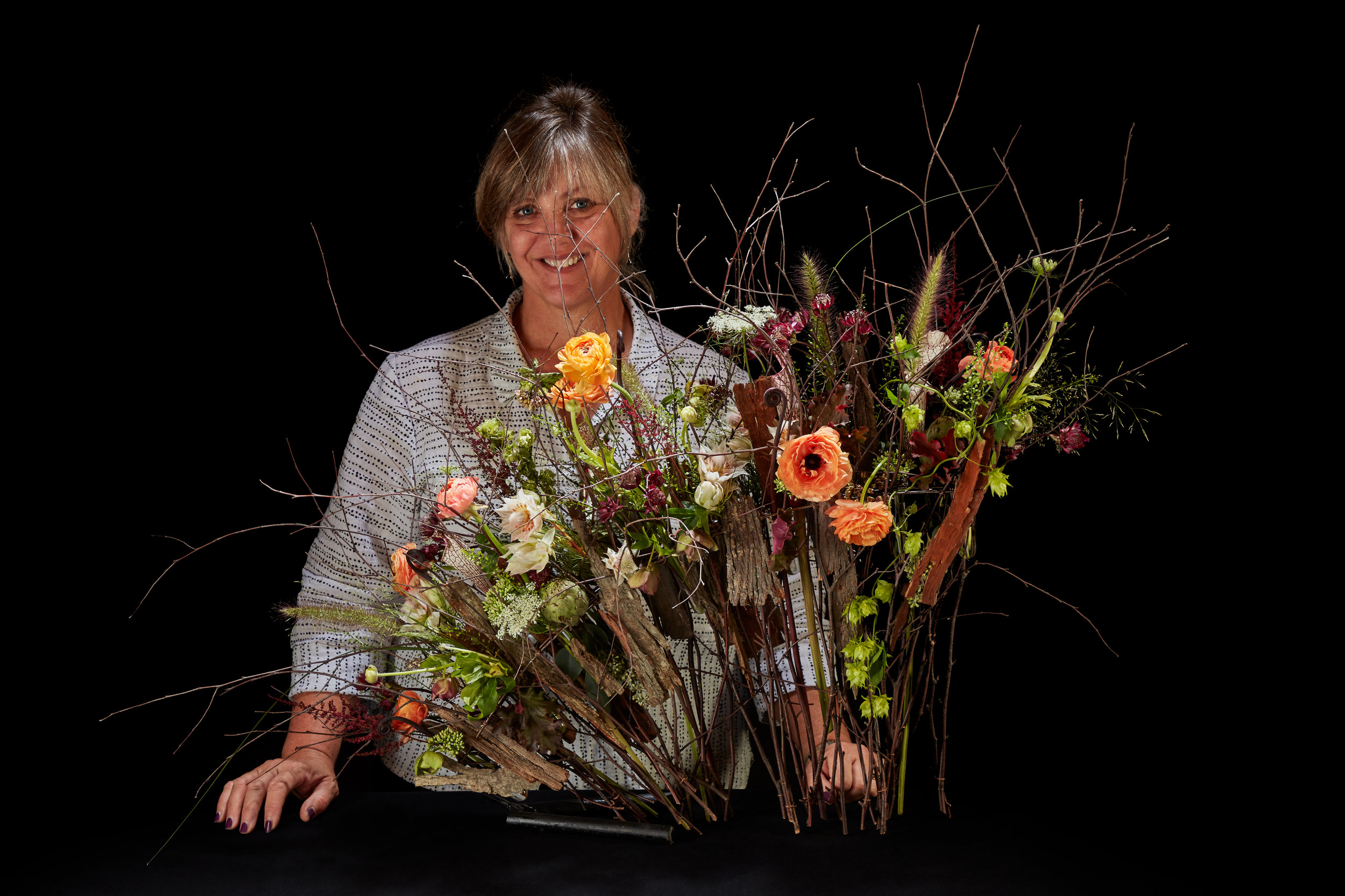 Recipient of Bronze Award in the category 'Transparency' in Fusion Flower Magazine International Designer of the Year Competition. Photo and copyright by Charles Mayer Photography