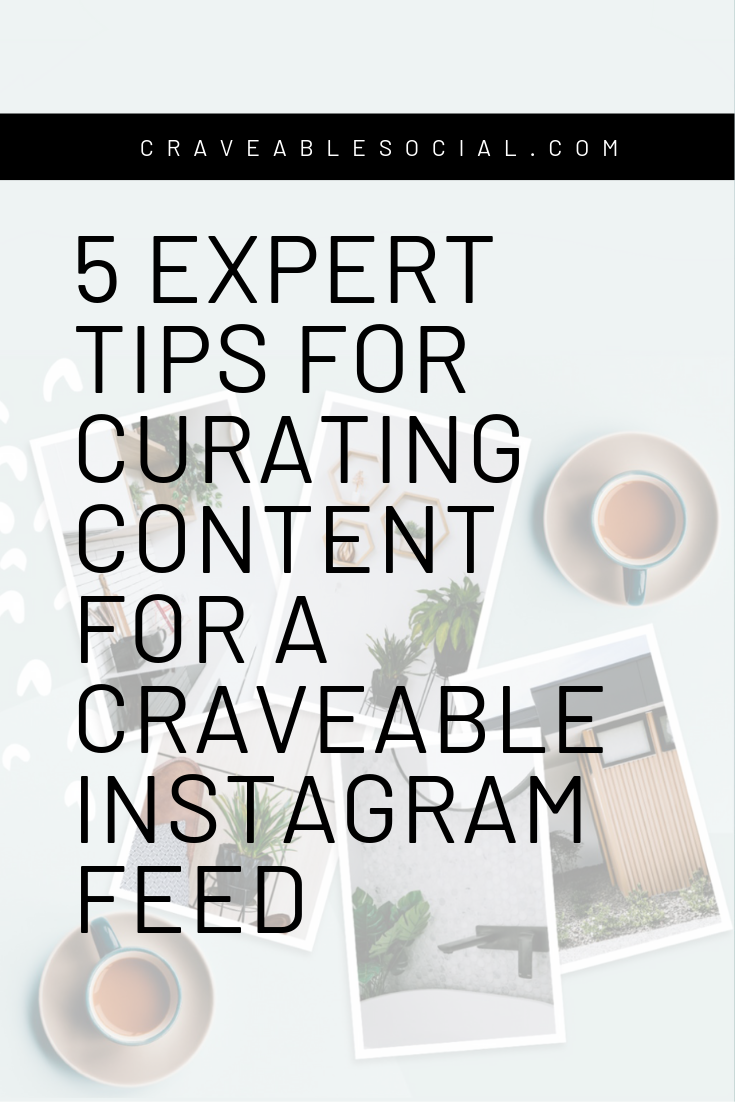 Curating for Instagram is a mix of art direction, styling, content creation, and strategy . - It's a balance between the strategic part of marketing with the creative side of content creation.
