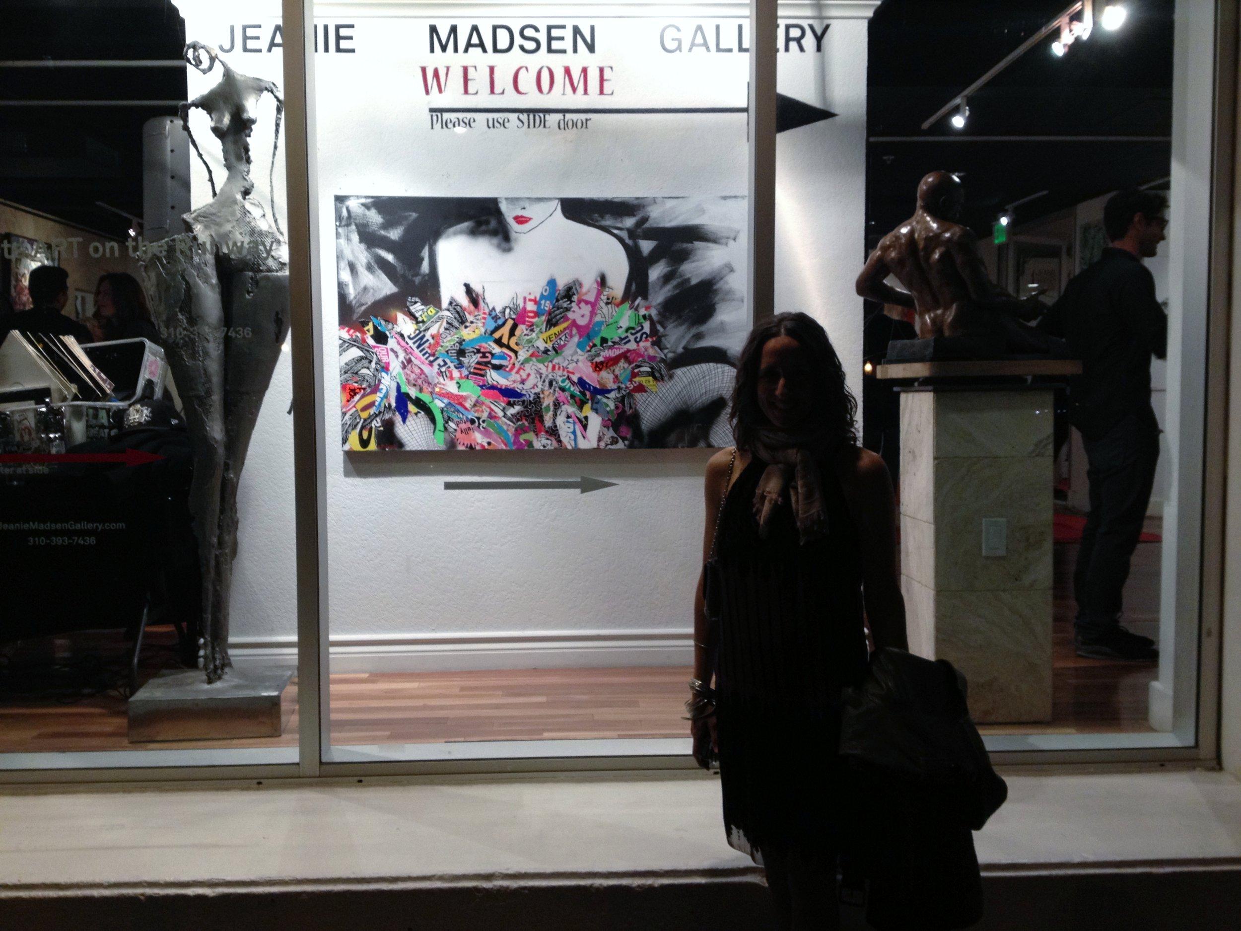 My entrance into the art world ~ Los Angeles, CA
