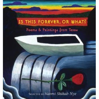 con flama  excerpt in  Is This Forever, Or What?: Poems & Paintings From Texas