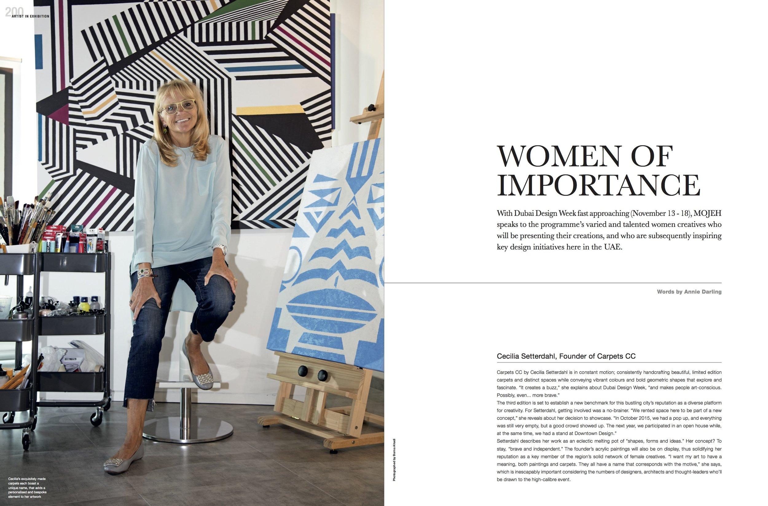 MOJEH - Women Of Importance