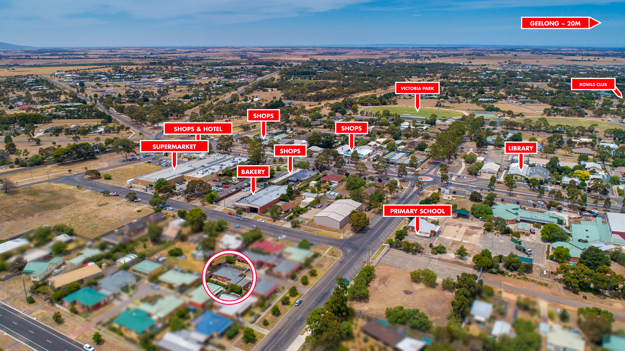 Geelong Rural aerial photography