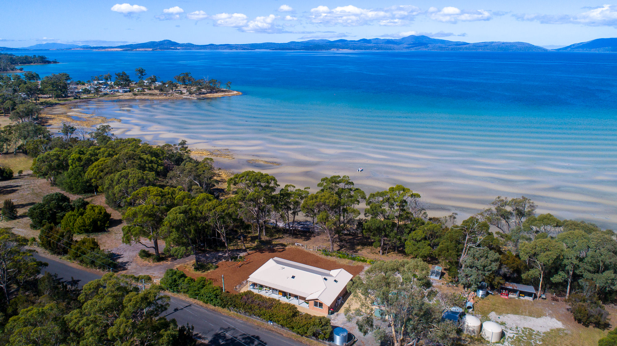 Beautiful drone photography for real estate