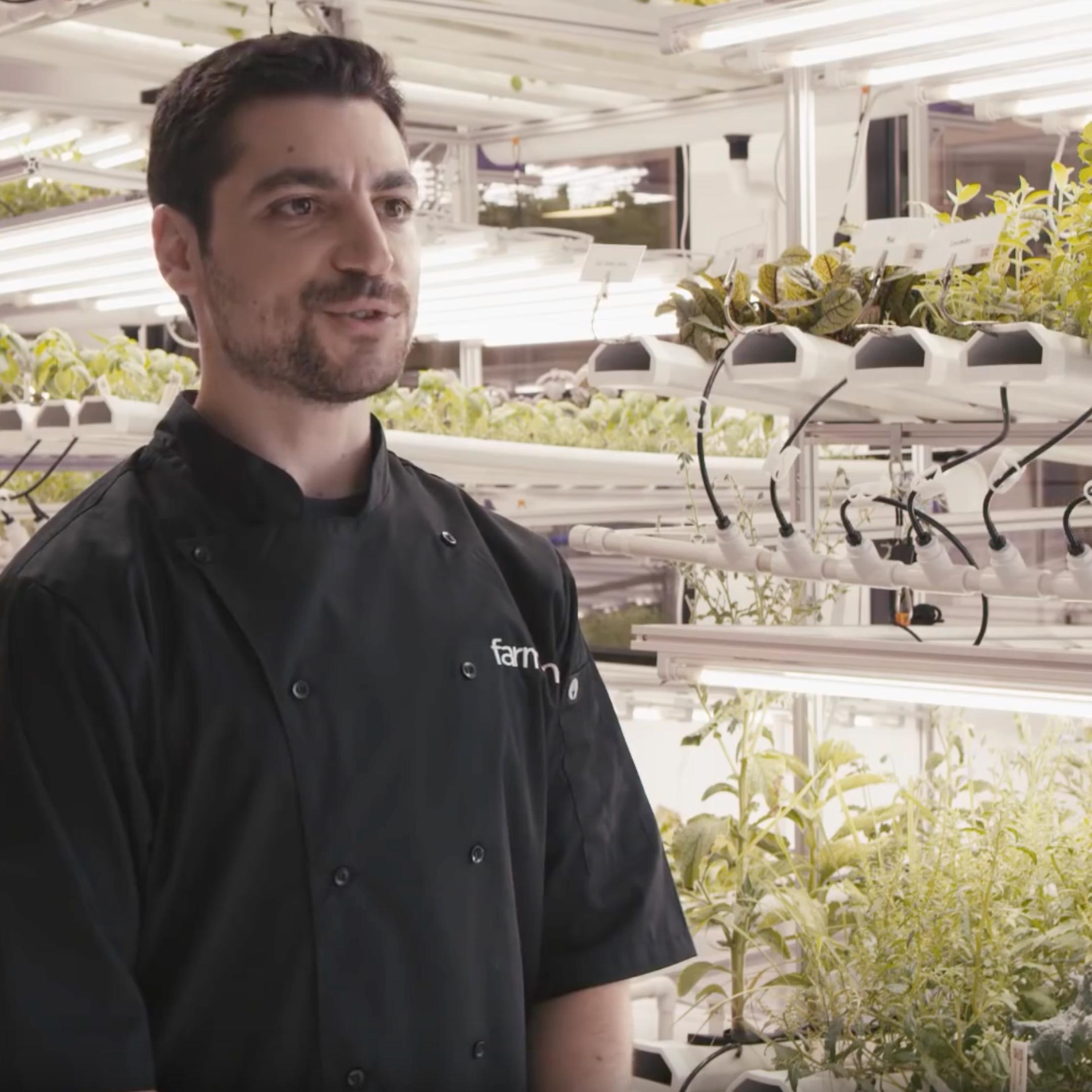 Farm Manager David Goldstein