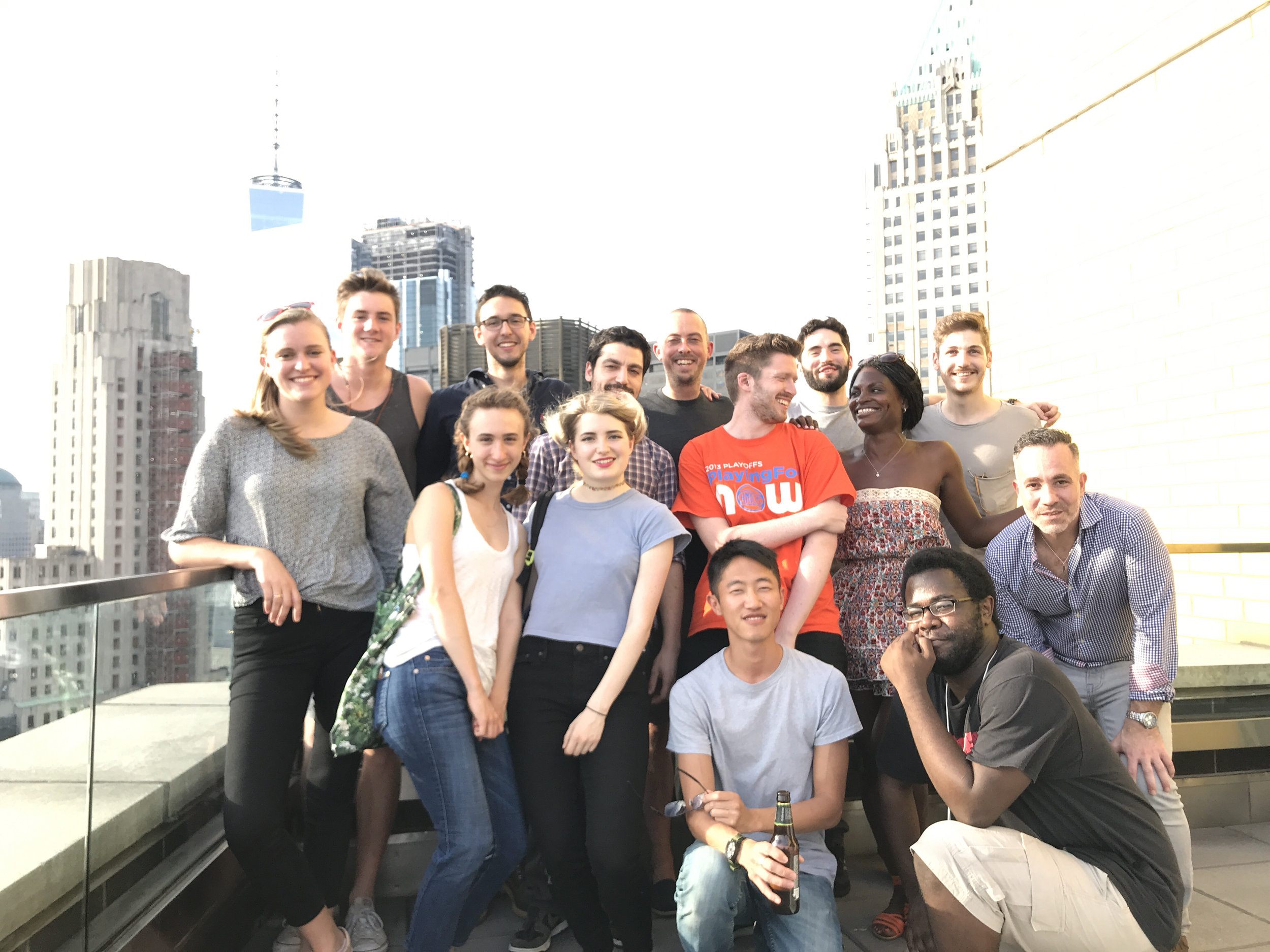 PART OF THE TEAM - Work and play with staff and interns from all backgrounds in the heart of NYC