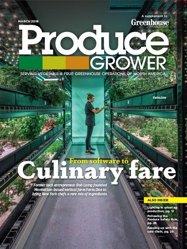 PRODUCE GROWER   March 2018