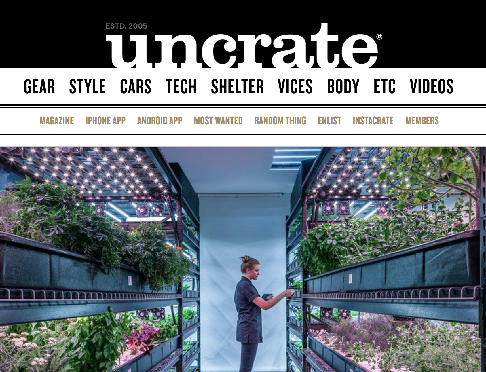 UNCRATE   February 2018