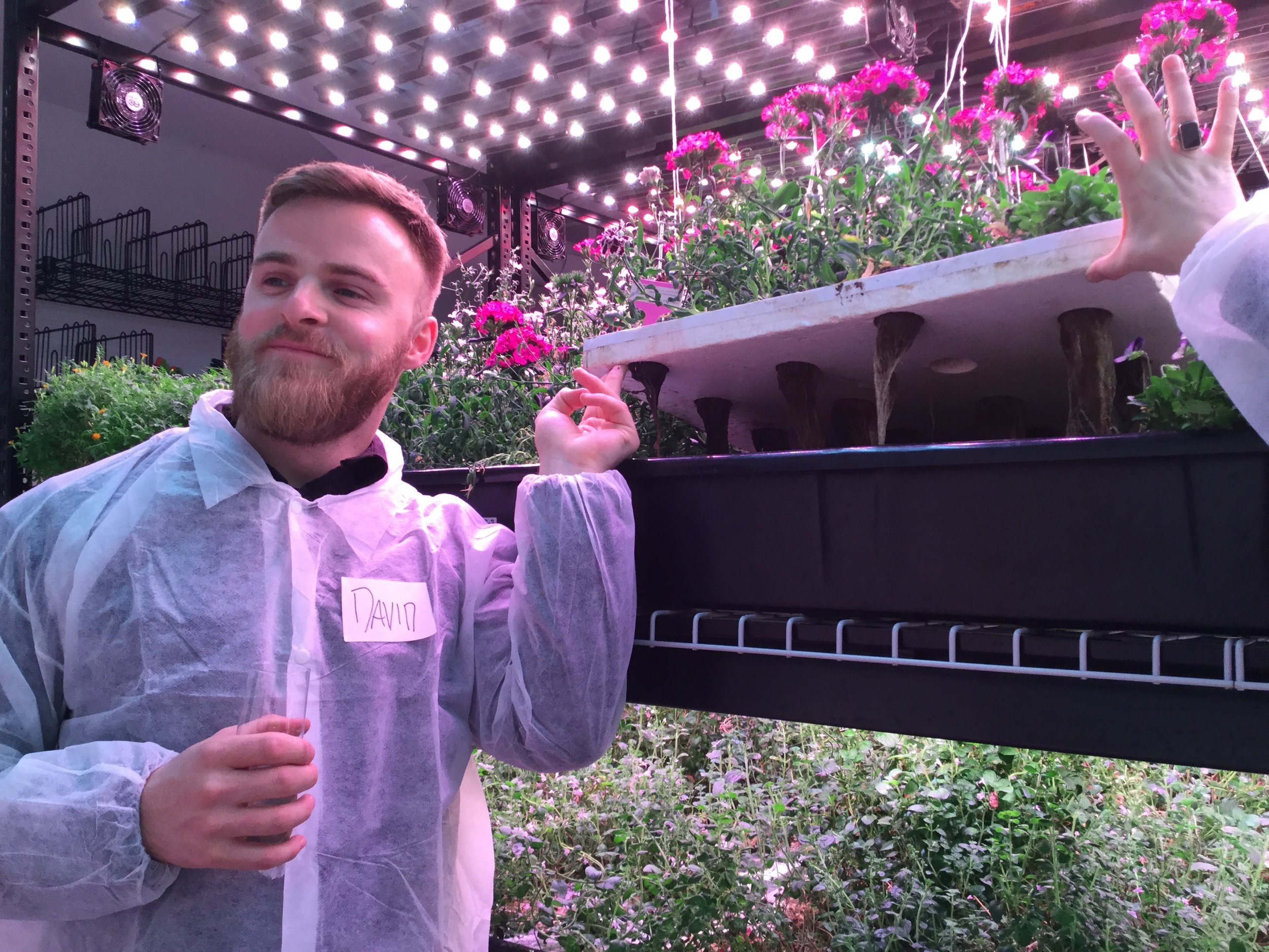 See, touch and use multiple kinds of hydroponic systems