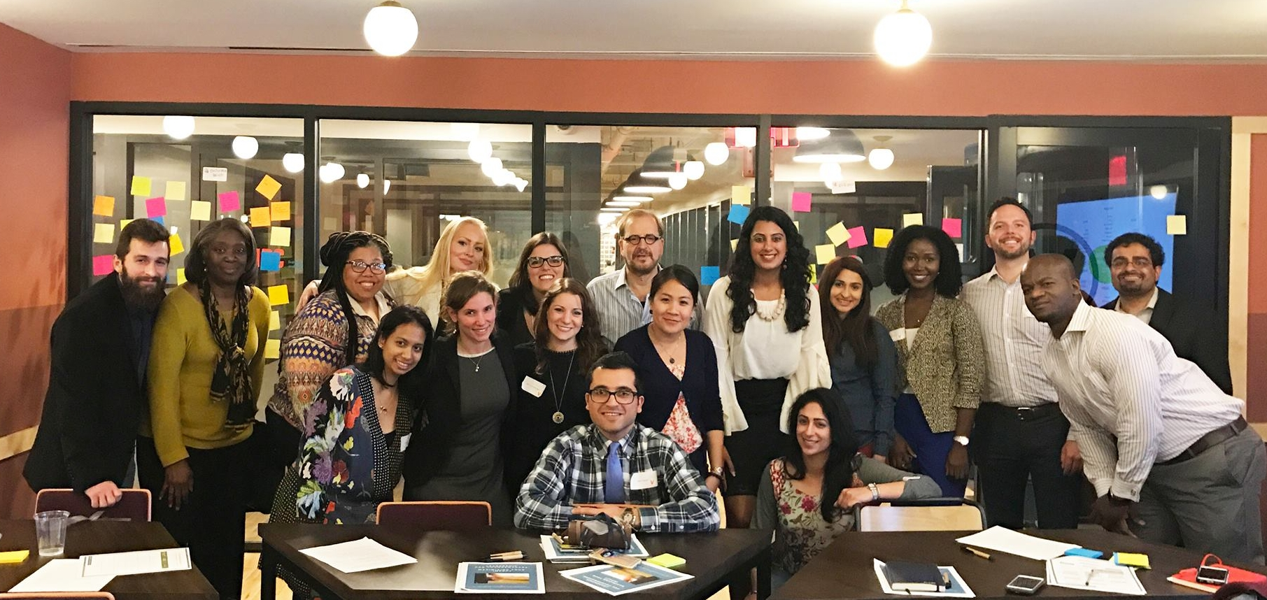 Leaders in Washington D.C. uncover their high impact leadership styles during Inner Peacebuilding's Leadership for Changemakers Workshop