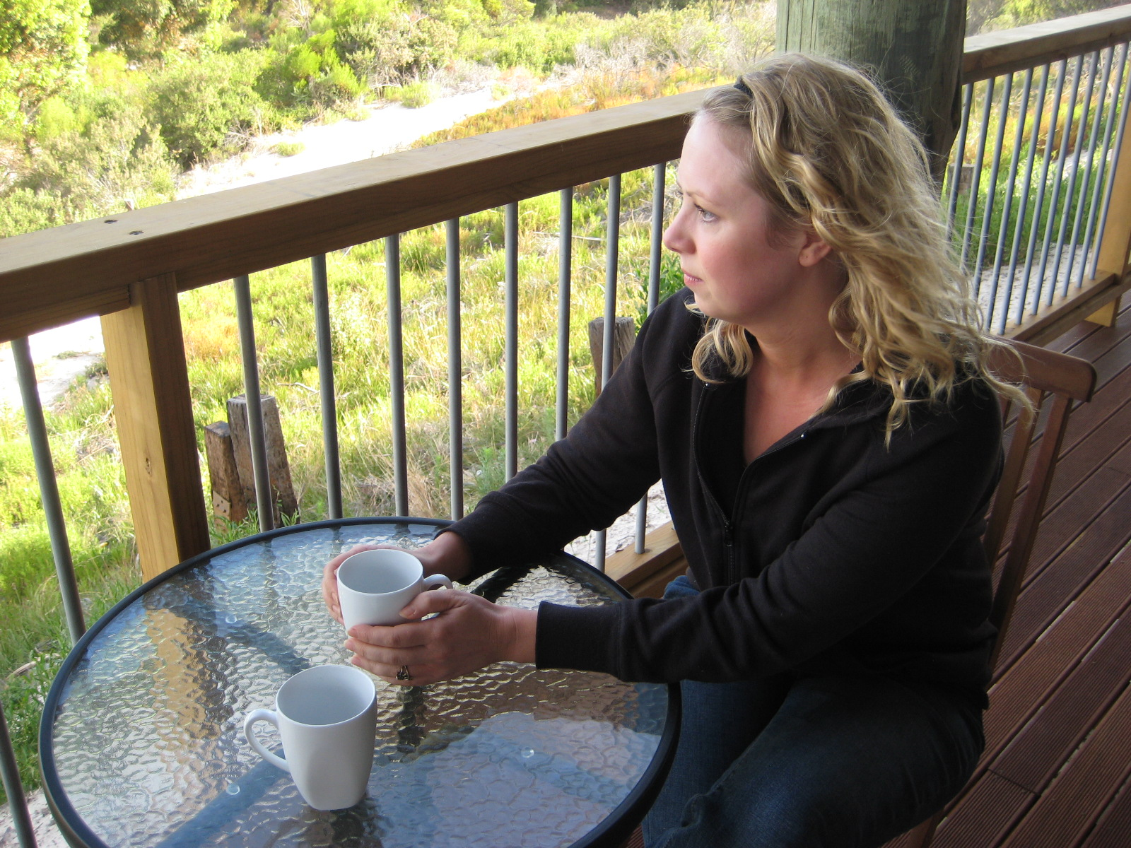 Coffee on balcony.JPG
