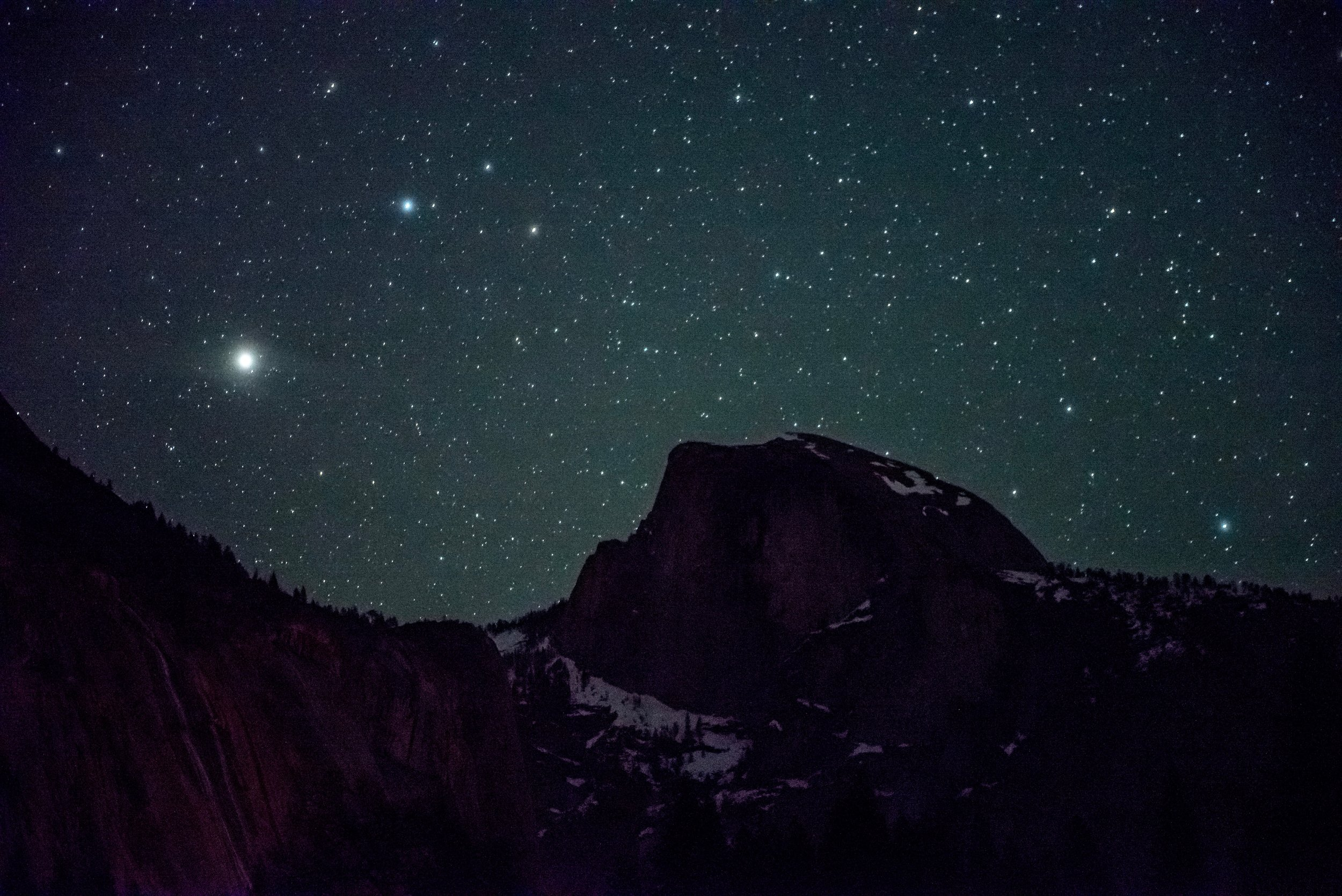 Starlight and Half Dome