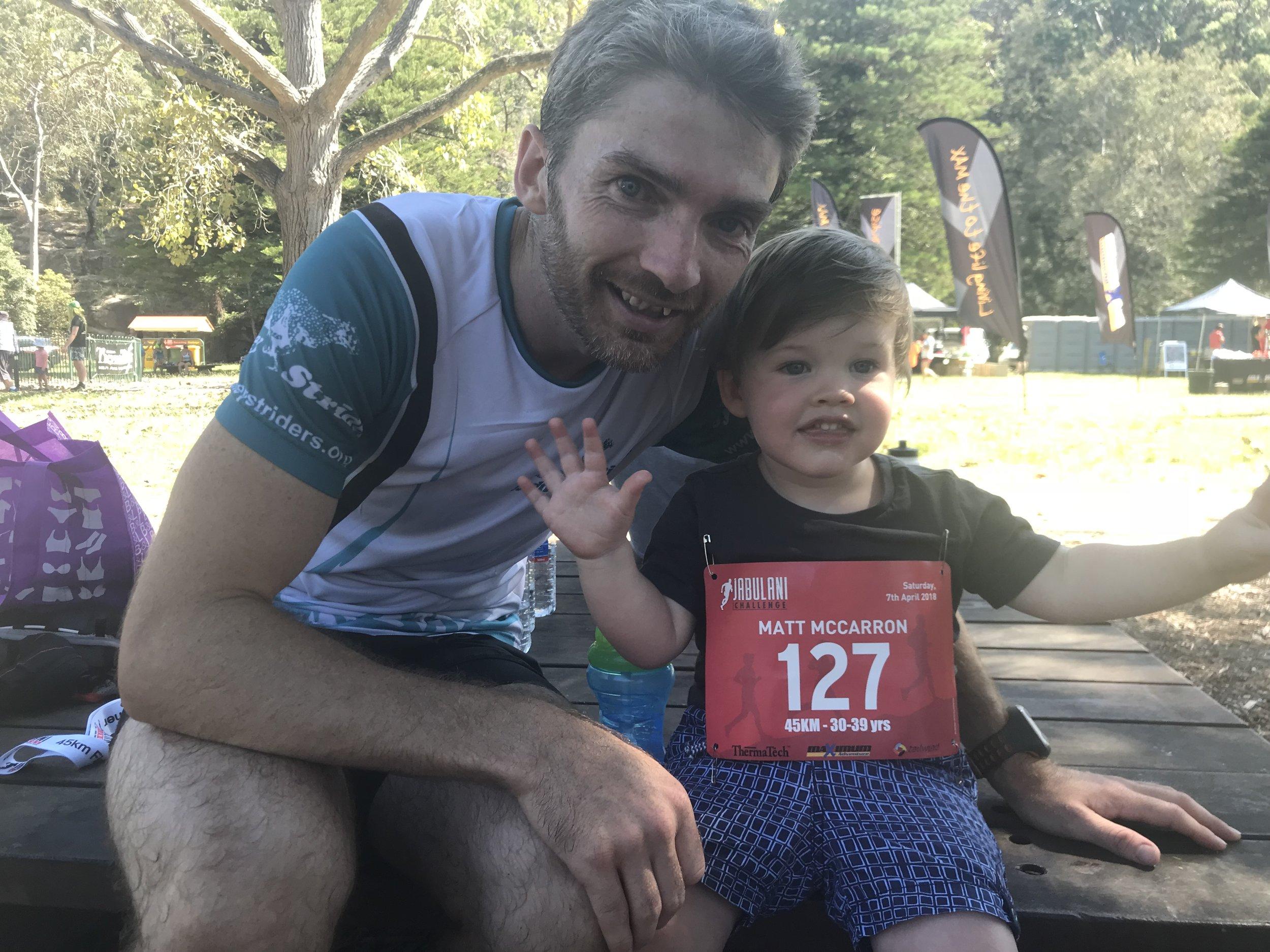 Matt McCarron | Pacing time 100min