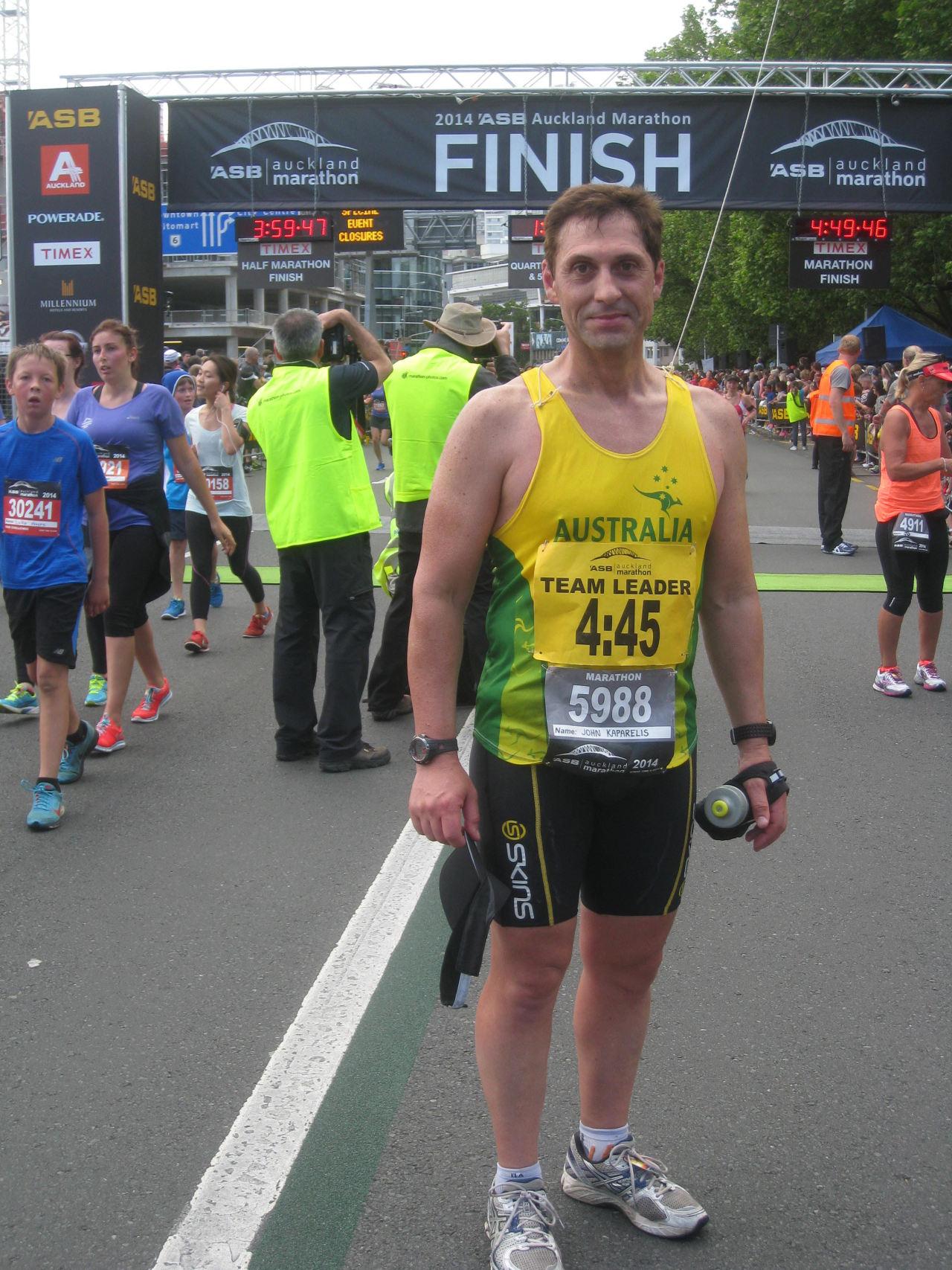 John Kaparelis | Pacing time 360min