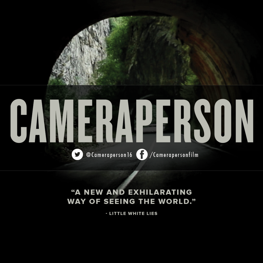 """Critics call #Cameraperson """"ingeniously assembled"""" (@BrooklynMagazine) and """"one of the most remarkable films of the year"""" (@FandorFilms). See it in #LosAngeles this weekend! Opens at @LaemmleTheatres Sept. 23  #documentary #film #documentaries #photog #cinematography #sundance #filmfestival"""