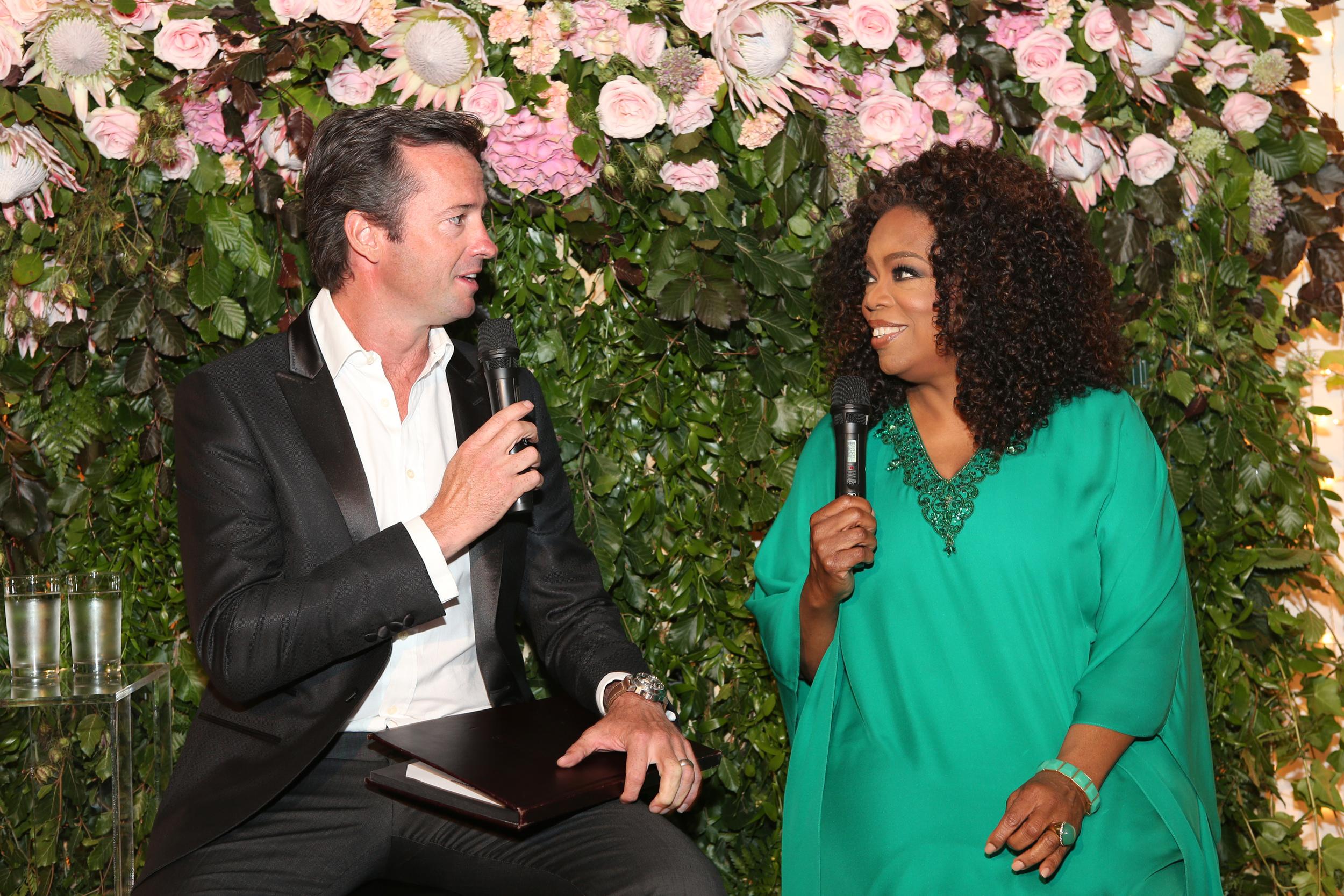 Hamish McLachlan & Oprah Winfrey