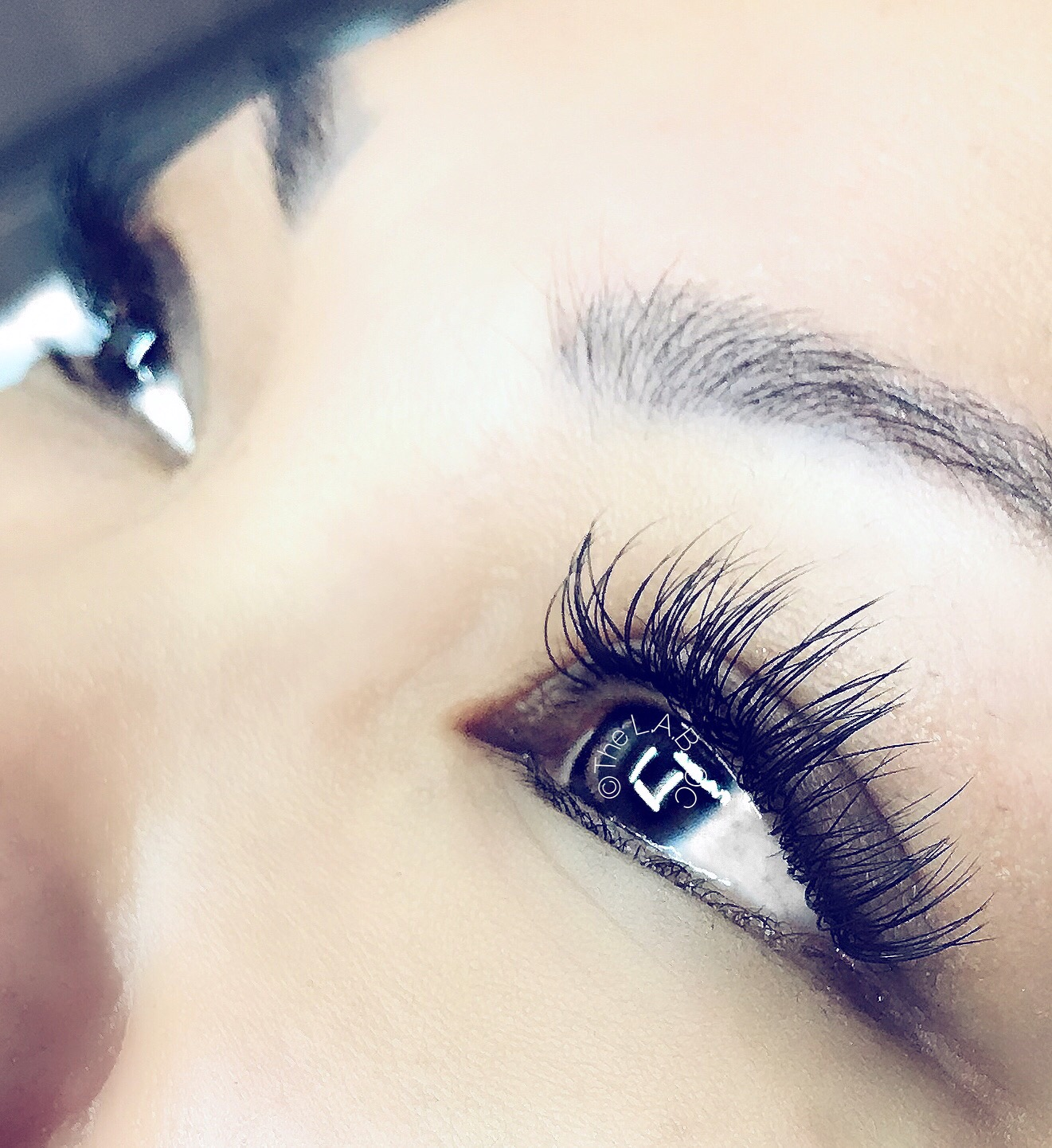 Classics are a set of individual lash extensions