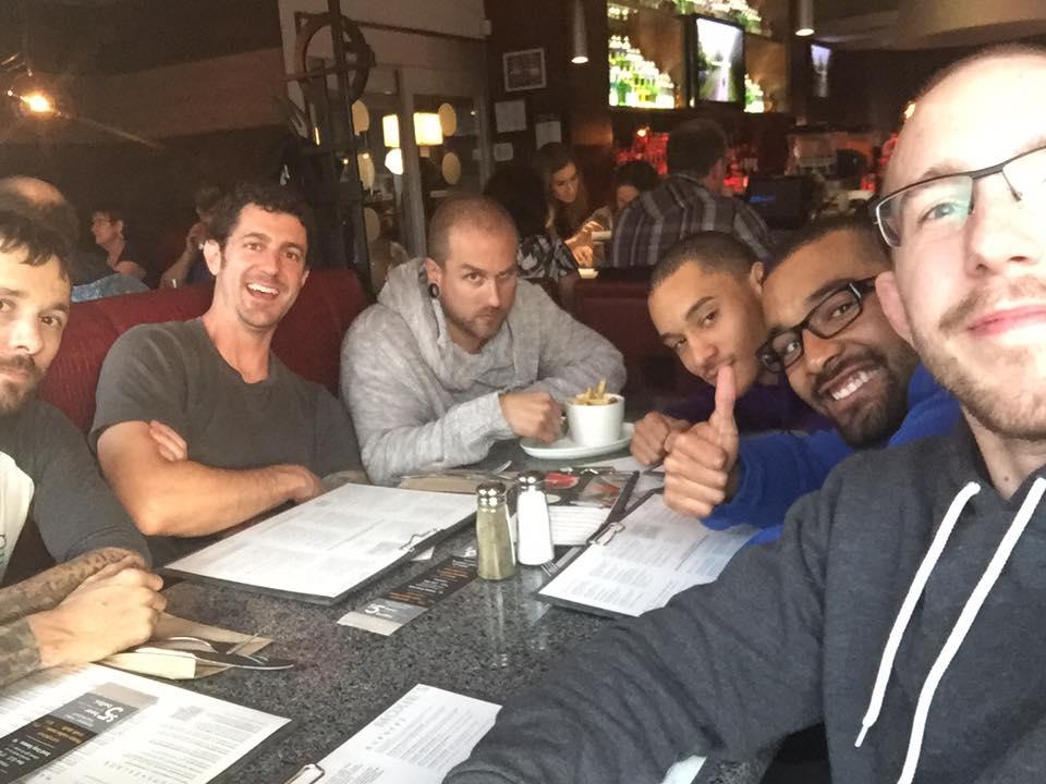 Team dinner post tournament