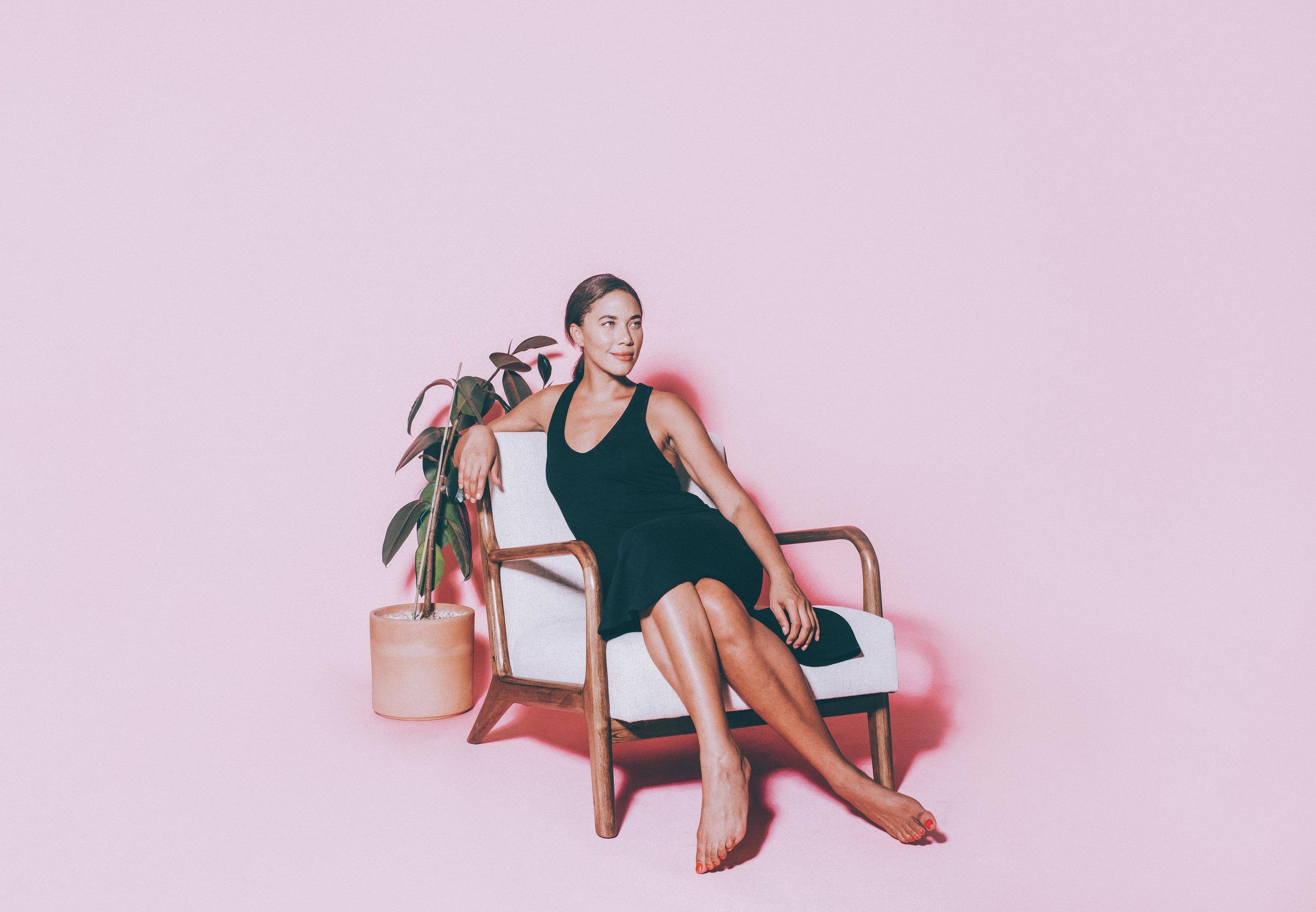Lounge wear by Nicole Alex