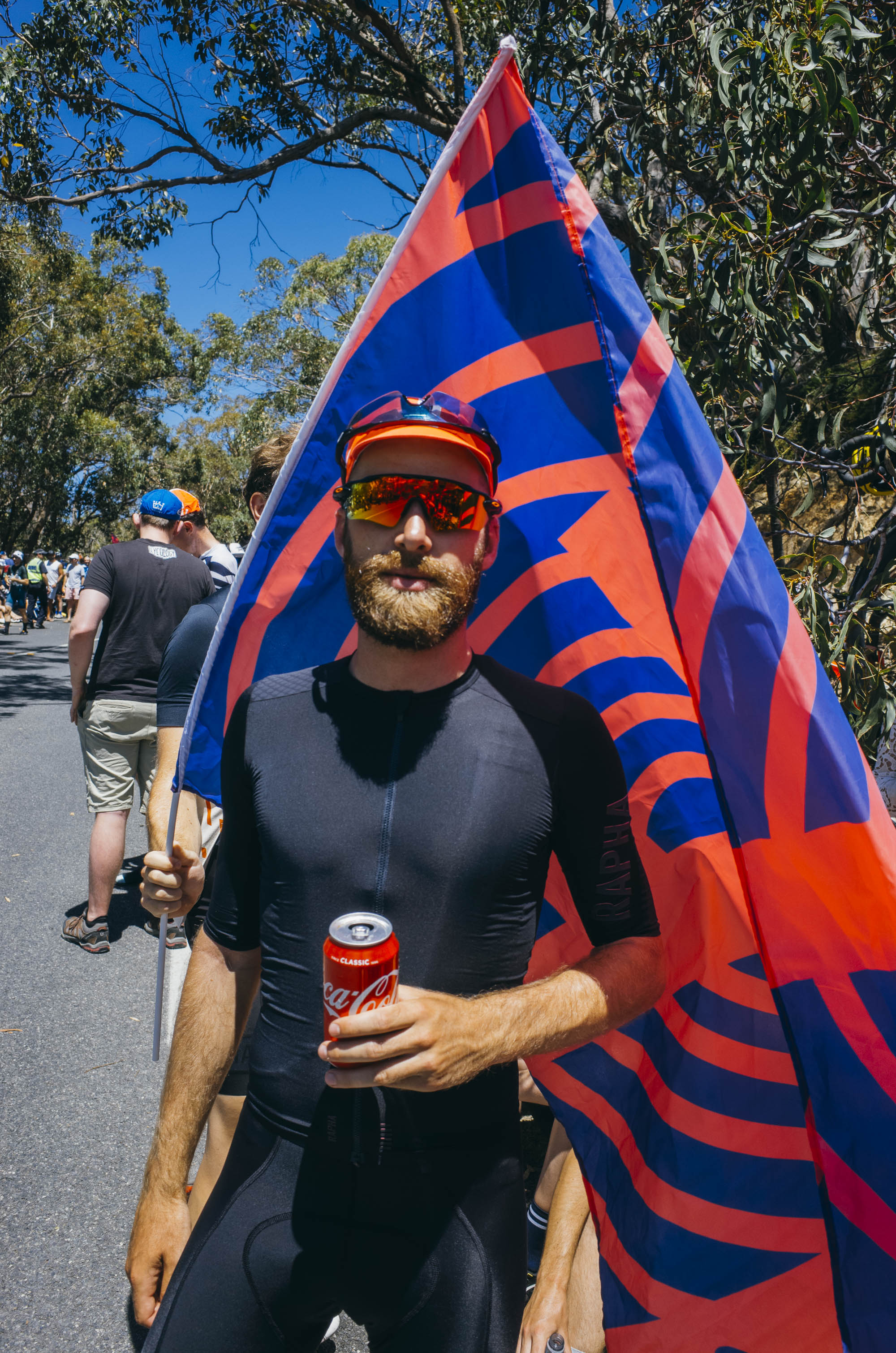 """""""Brooo the thing I love the most about the Tour Down Under is Coca-Cola man, with the heat I end up dreaming about ice cold cans all day every day."""" - – Matty Boi"""