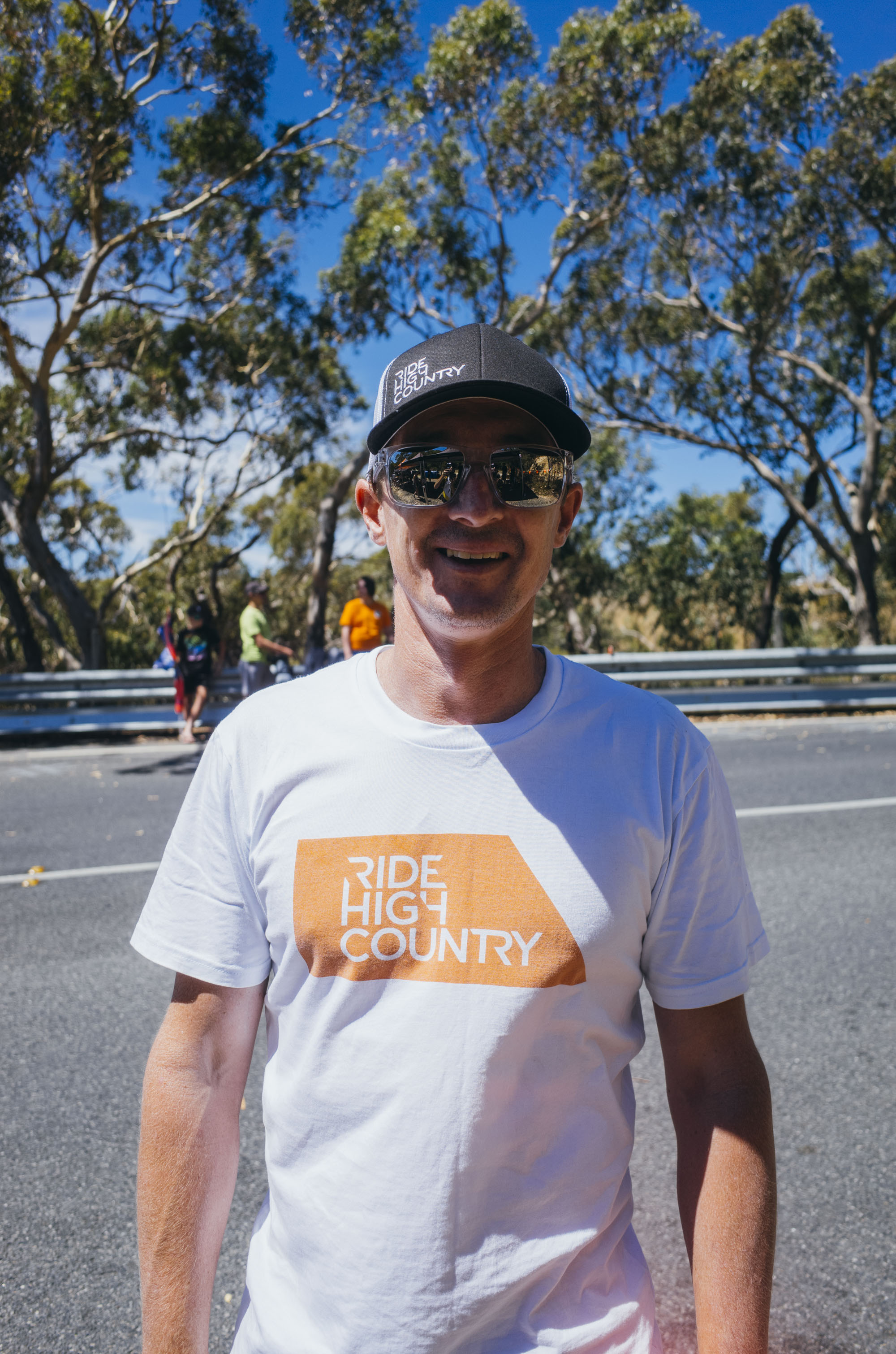"""""""What I love about the Tour Down Under is that it's an incredible melting pot of Australia's cycling community. I don't think there is a more educated cycling audience in the world than right here on Willunga Hill, and it absolutely showed in the passion, the enthusiasm and the love that Australian's have for this race."""" - – Matt"""