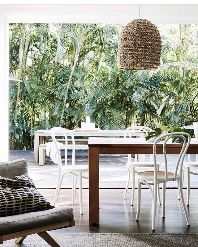 The beautiful @the_bower_byron_bay featuring our coconut, husk, rope lights - in store and online (DM for details)🥥💡 📷 @jessie___prince