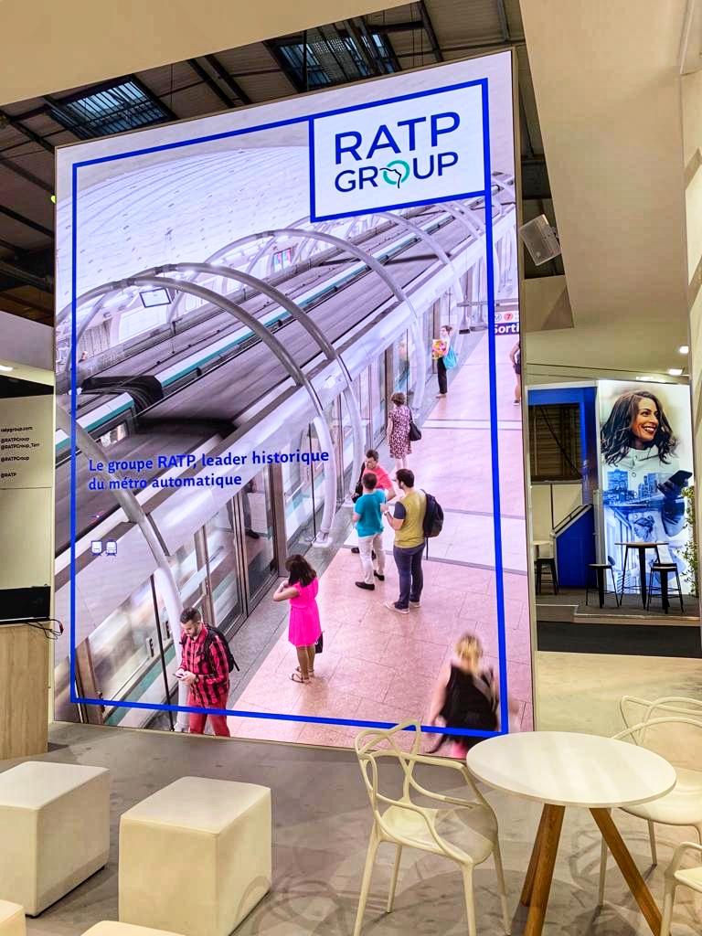 Des contenus qui véhiculent des informations clés sur RATP Group