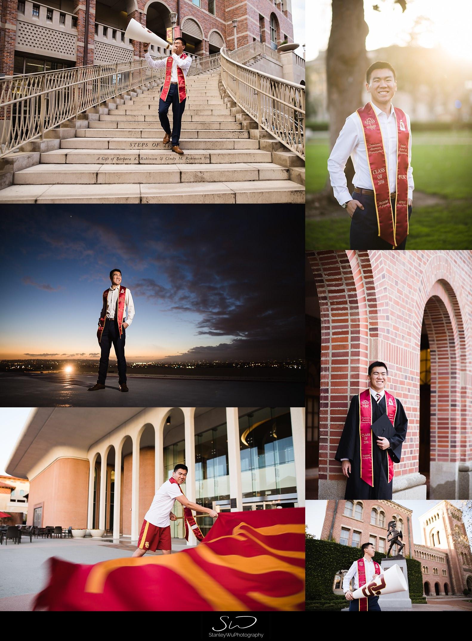 los-angeles-ucla-usc-creative-rooftop-graduation-senior-portraits