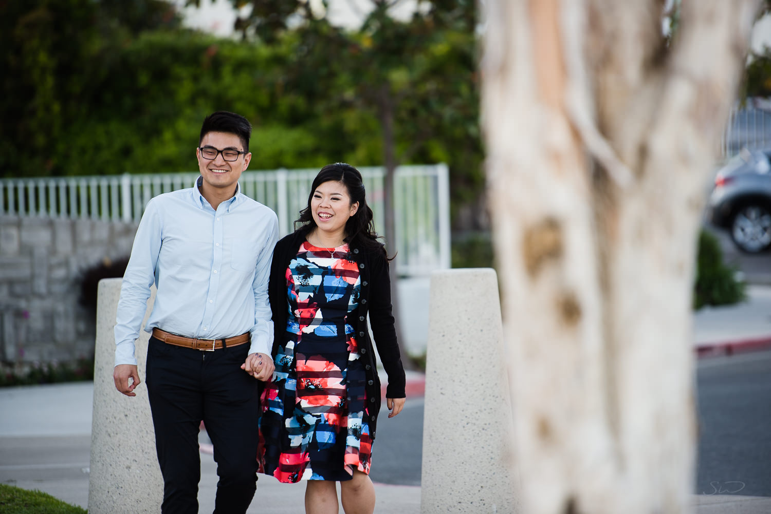 Surprise proposal. Cliffside proposal in Dana Point | Stanley Wu Photography Portrait & Wedding Photographer | Los Angeles, Orange County, Southern California