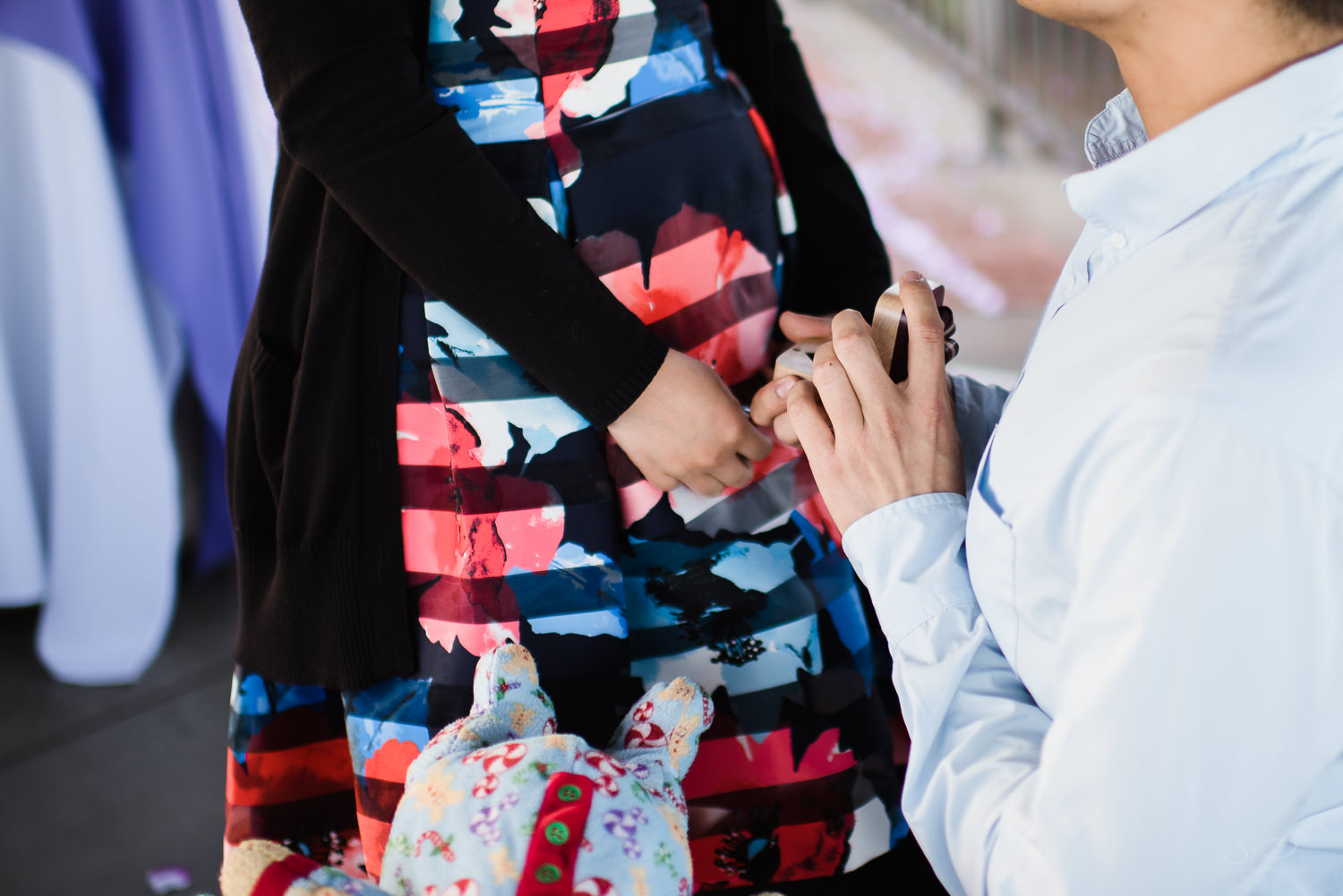 Will you marry me? Cliffside proposal & engagement in Dana Point | Stanley Wu Photography Portrait & Wedding Photographer | Los Angeles, Orange County, Southern California