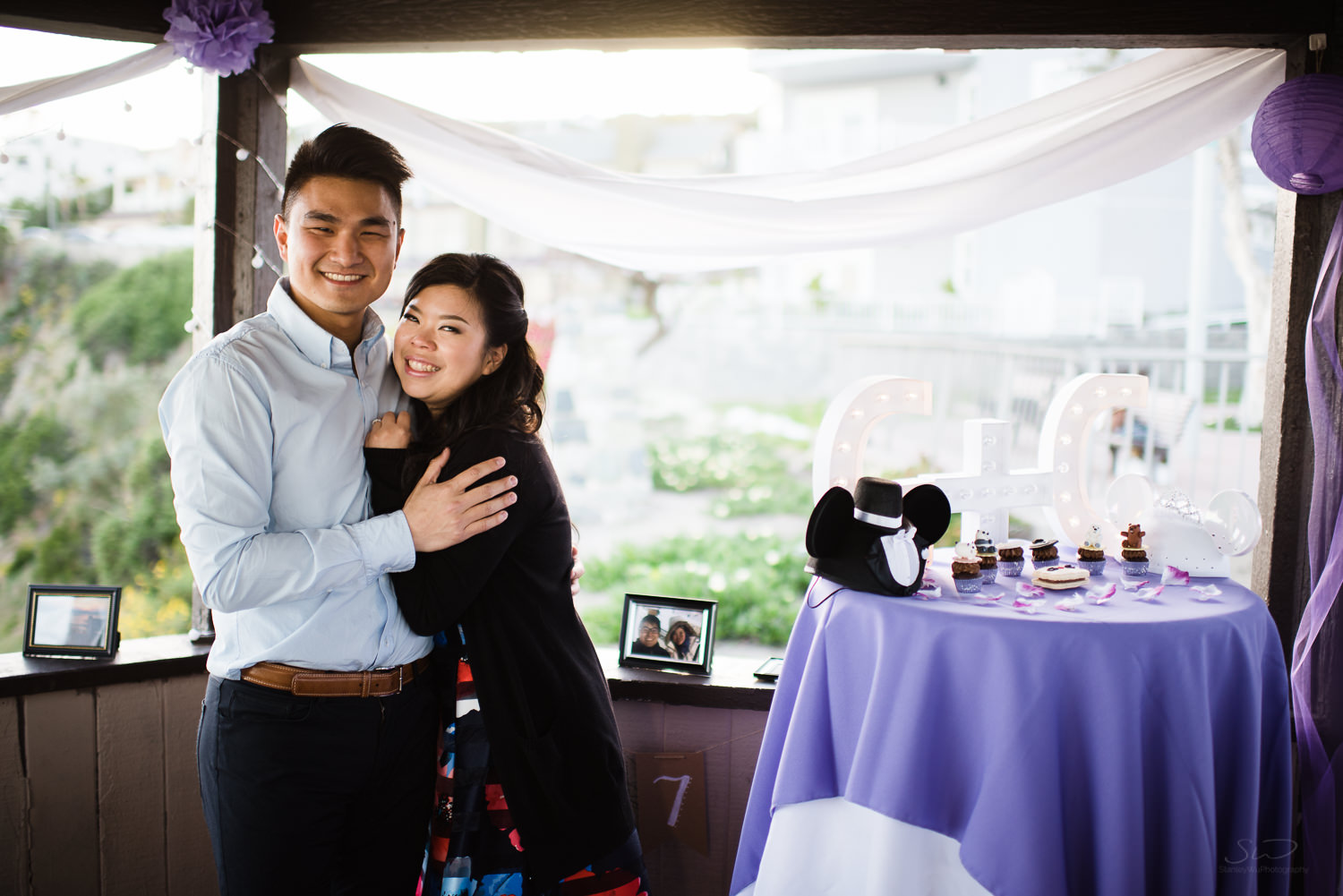 Cliffside proposal & engagement in Dana Point | Stanley Wu Photography Portrait & Wedding Photographer | Los Angeles, Orange County, Southern California