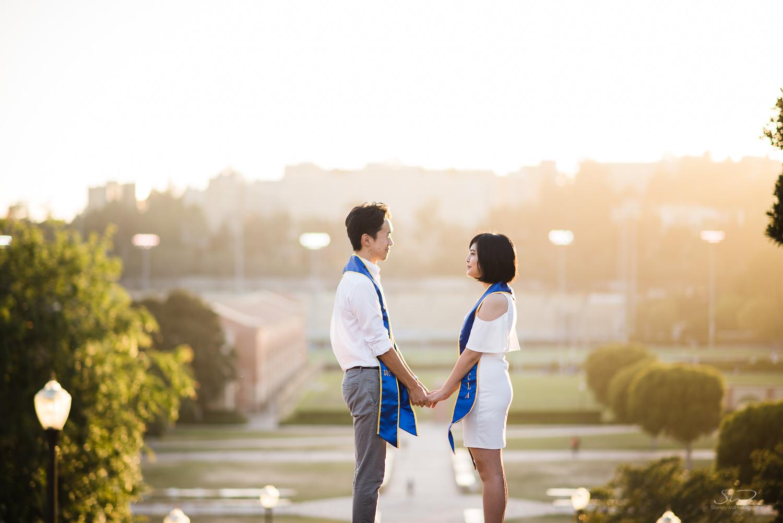 Copy of Copy of beautiful sunset portrait of a couple holding hands | Stanley Wu Photography | Los Angeles | Graduation Portraits | UCLA, USC, LMU, Pepperdine, CSULA, CSUN, CSULB, UCI, UCSD