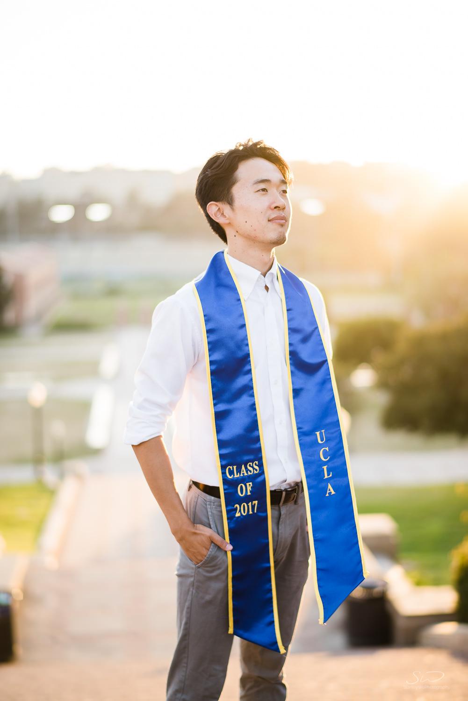 Copy of Copy of cool sunset portrait of a college senior  | Stanley Wu Photography | Los Angeles | Graduation Portraits | UCLA, USC, LMU, Pepperdine, CSULA, CSUN, CSULB, UCI, UCSD