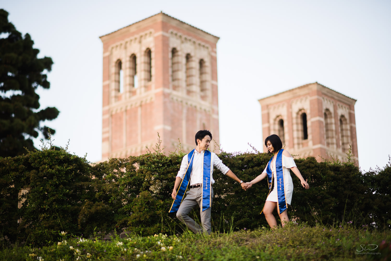 Copy of Copy of couple exploring ucla | Stanley Wu Photography | Los Angeles | Graduation Portraits | UCLA, USC, LMU, Pepperdine, CSULA, CSUN, CSULB, UCI, UCSD