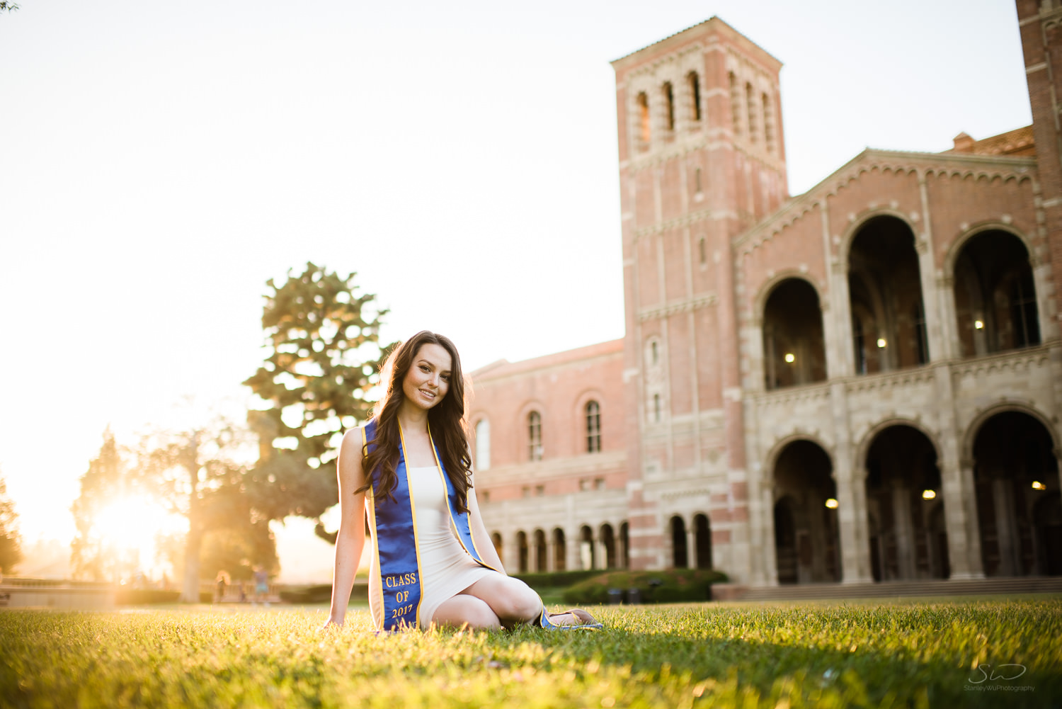 Epic UCLA landscape. Best graduation portrait photography, Los Angeles.