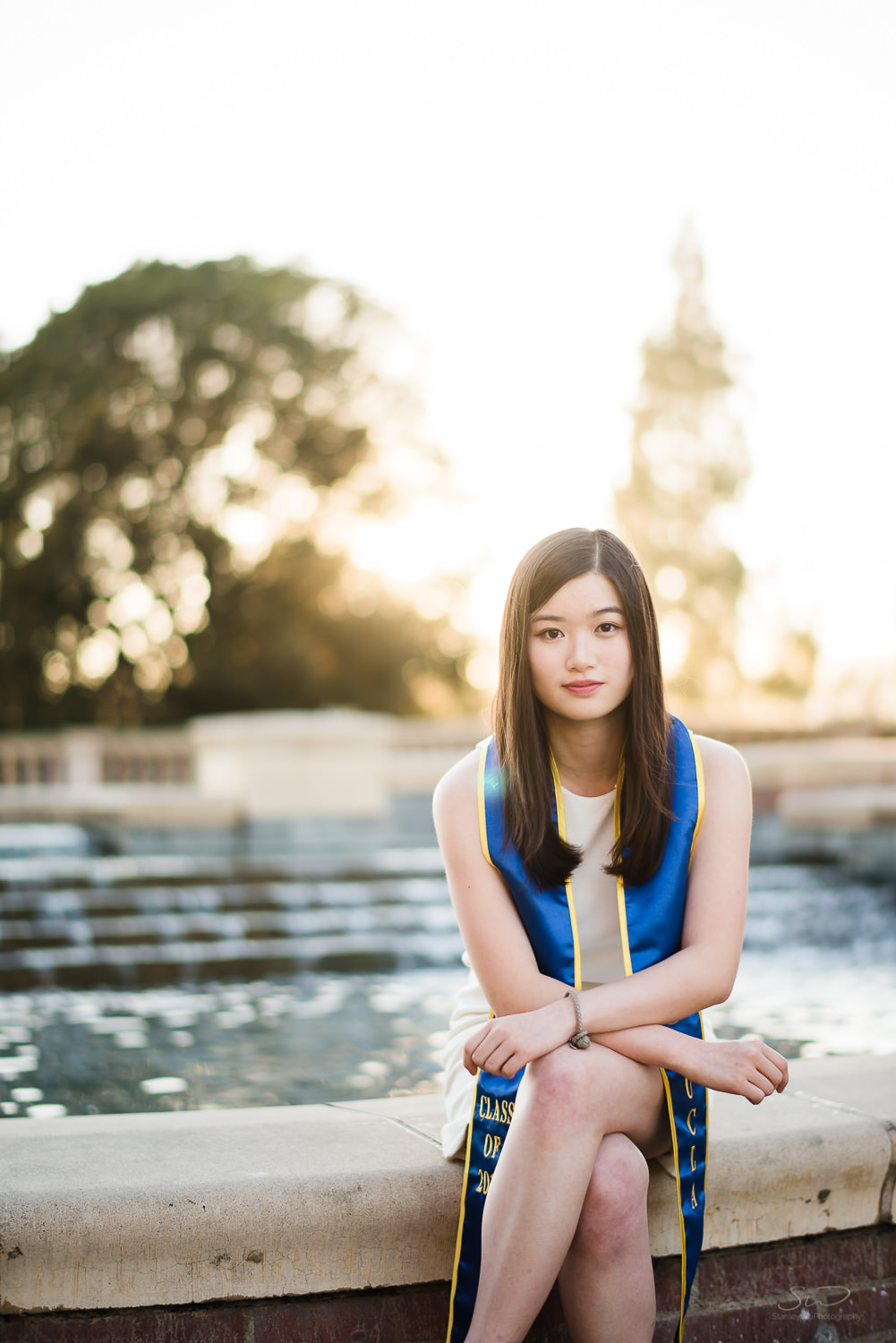 Fashion graduation portrait. Best graduation portrait photography, Los Angeles.