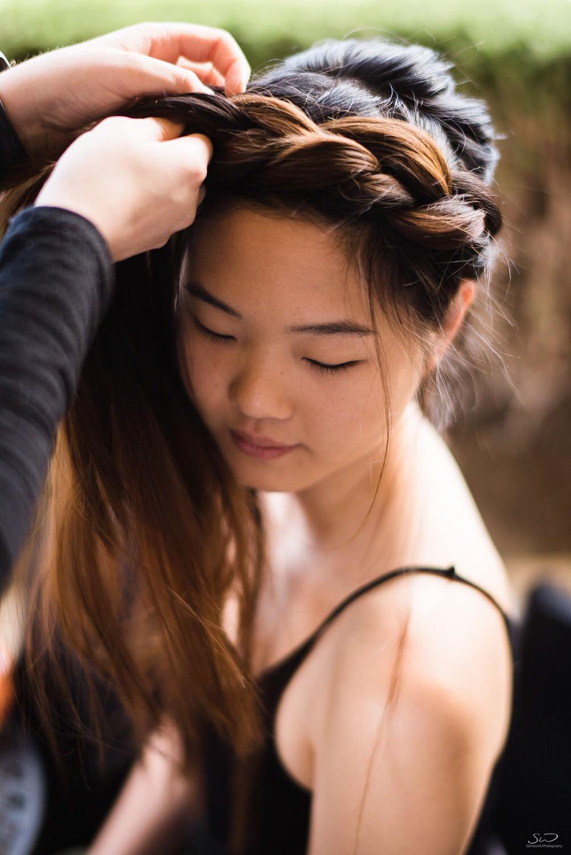 Bridal hair & makeup | Joshua Tree Desert Wedding & Engagement Inspiration
