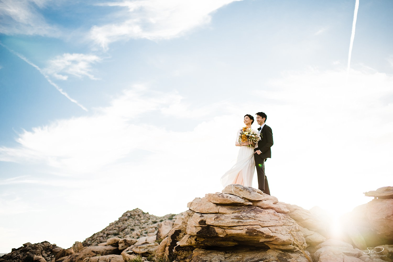 Epic couple session desert | Joshua Tree Desert Wedding, Engagement, Elopement, Adventure Inspiration