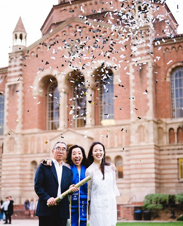 Congratulations to the Class of 2019 Bruins! You've done it! 🎉🍾🥂👩‍🎓👨‍🎓     - Interested in a session? Fill out the inquiry form on my website for more info, link in bio. - - #losangeles #graduationportraits #graduation #grad #laportraitphotographer #laweddingphotographer #ucla #usc #uci #lmu #pepperdine #csula #ucr #ucberkeley #csulb #csun #classof2019 #seniorportraits #college #UCLAcommencement #powell