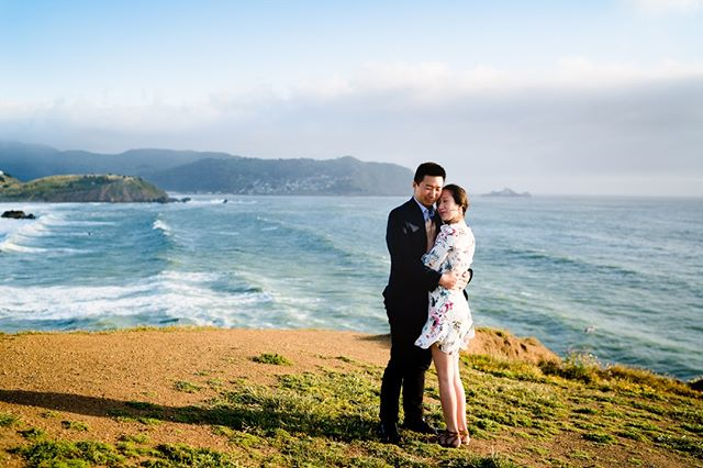 Just another serene and peaceful moment in the other's loving embrace. Don't mind the 40mph winds though.⁠ -⁠ -⁠ -⁠ #moripoint #bayareawedding #bayareaengagement #sf #sfwedding #sunset #cliffside #californiacoast #losangelesweddingphotographer #ocweddingphotographer #losangelesengagementphotographer #weddingphotography #justengaged #justmarried #weddinginspiration #engagementinspiration #engagementphotography #adventuresession #couplesphotography #theknot #weddingwire