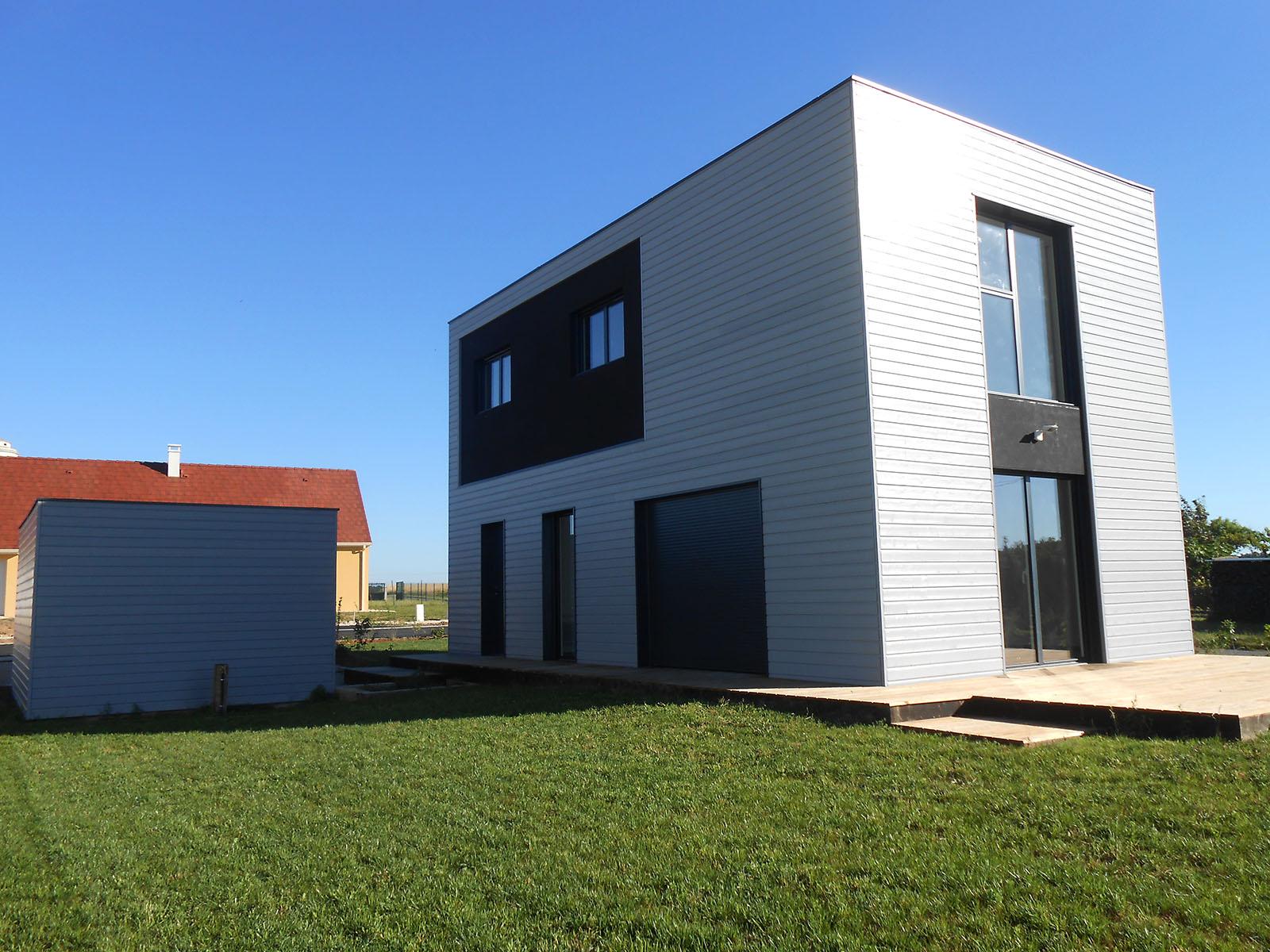 Neomenuiserie : Maison V - Loir et Cher - 41 - Houssay