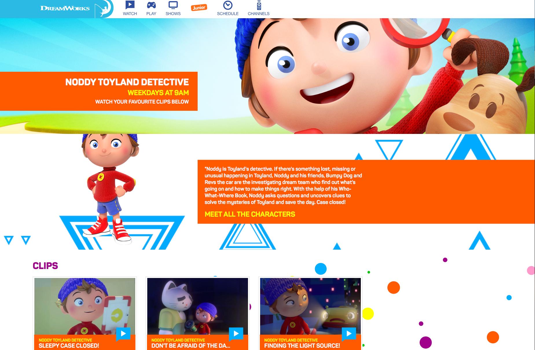 More details on  Dreamworks's Website.