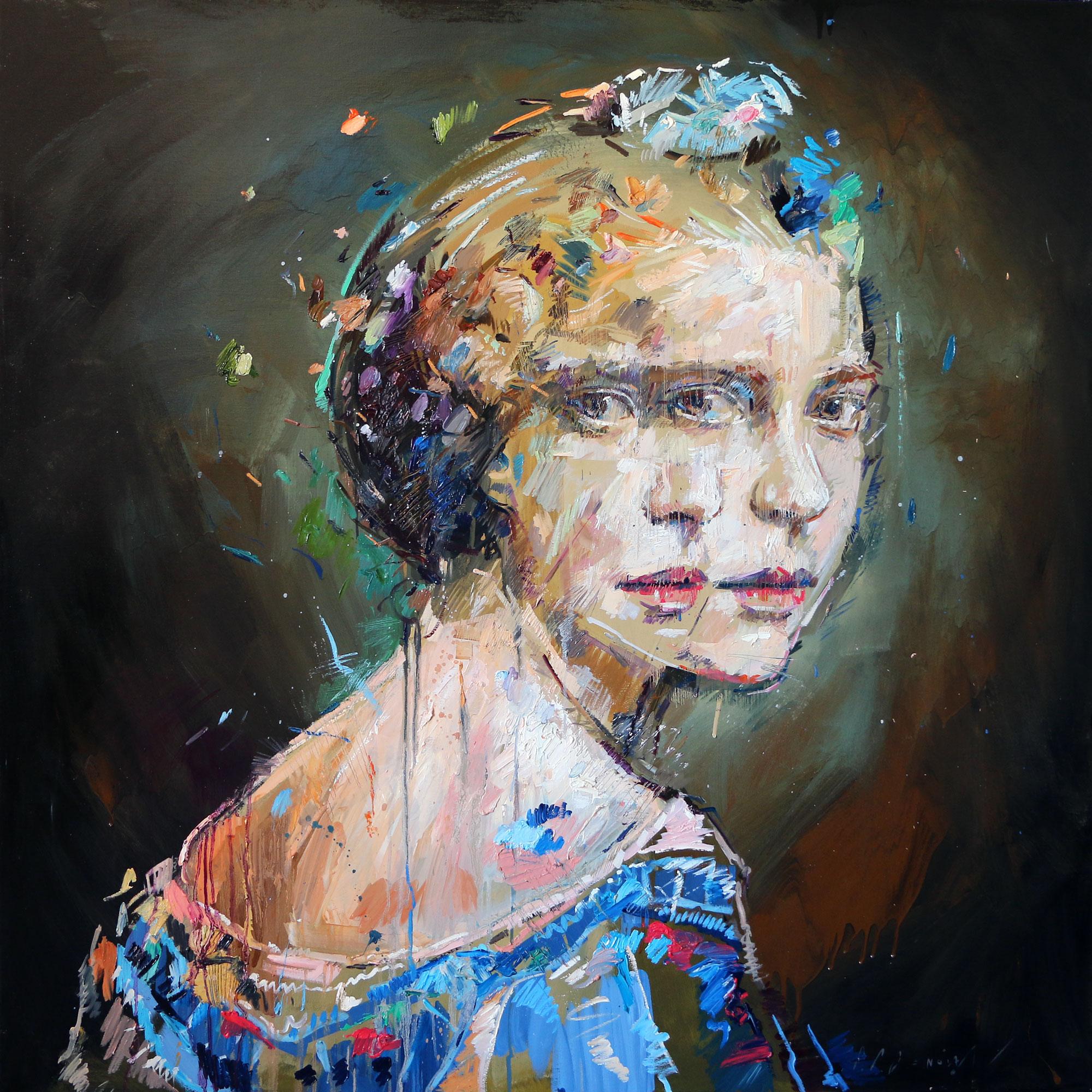 Rupture (Dorothea Poole). Oil on canvas.130cm x 130cm.