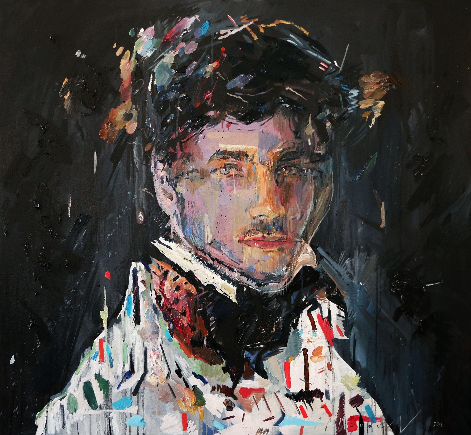 Guise (Michael Berardi). Oil on Canvas.120cm x 130cm.