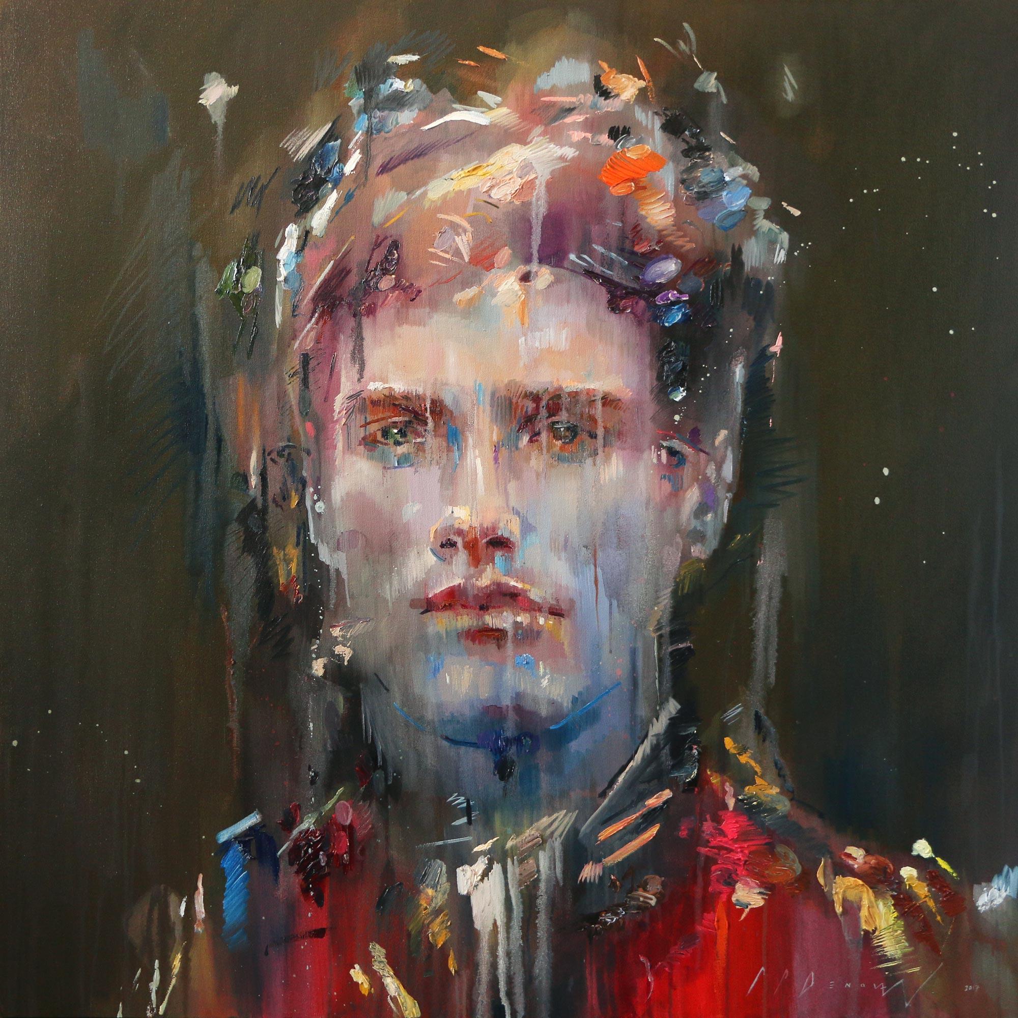 Apathetic Allegiance (Citlali-Nye). Oil on canvas.130cm x 130cm.