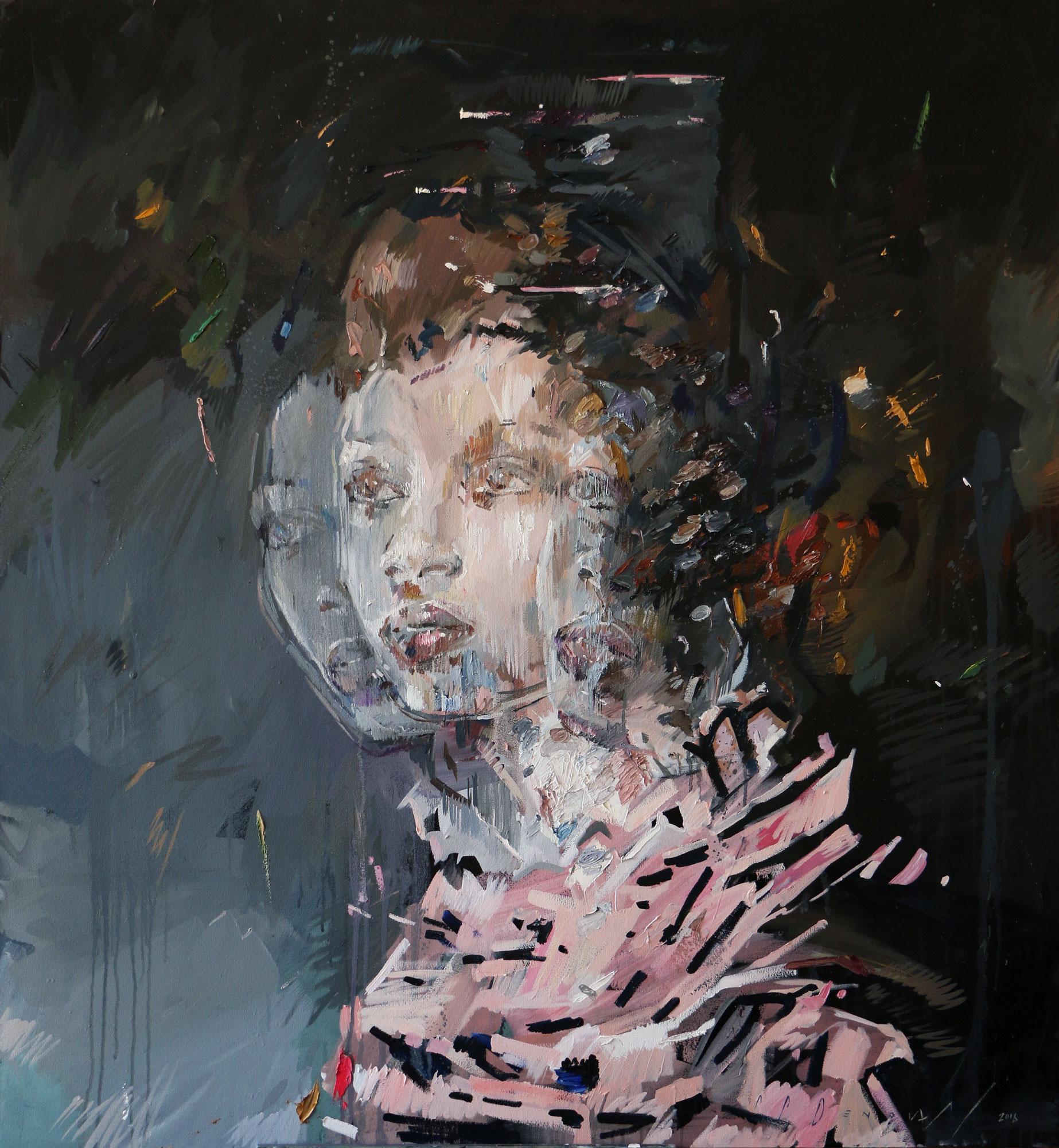 Dispersion (Zahide Naoumov). Oil on Canvas.130cm x 120cm.